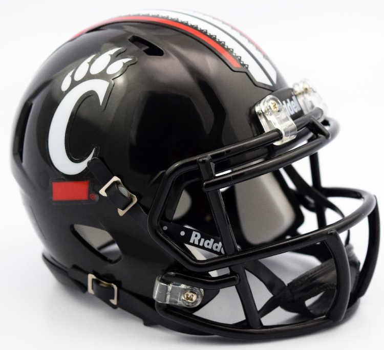 Cincinnati Bearcats NCAA Mini Speed Football Helmet