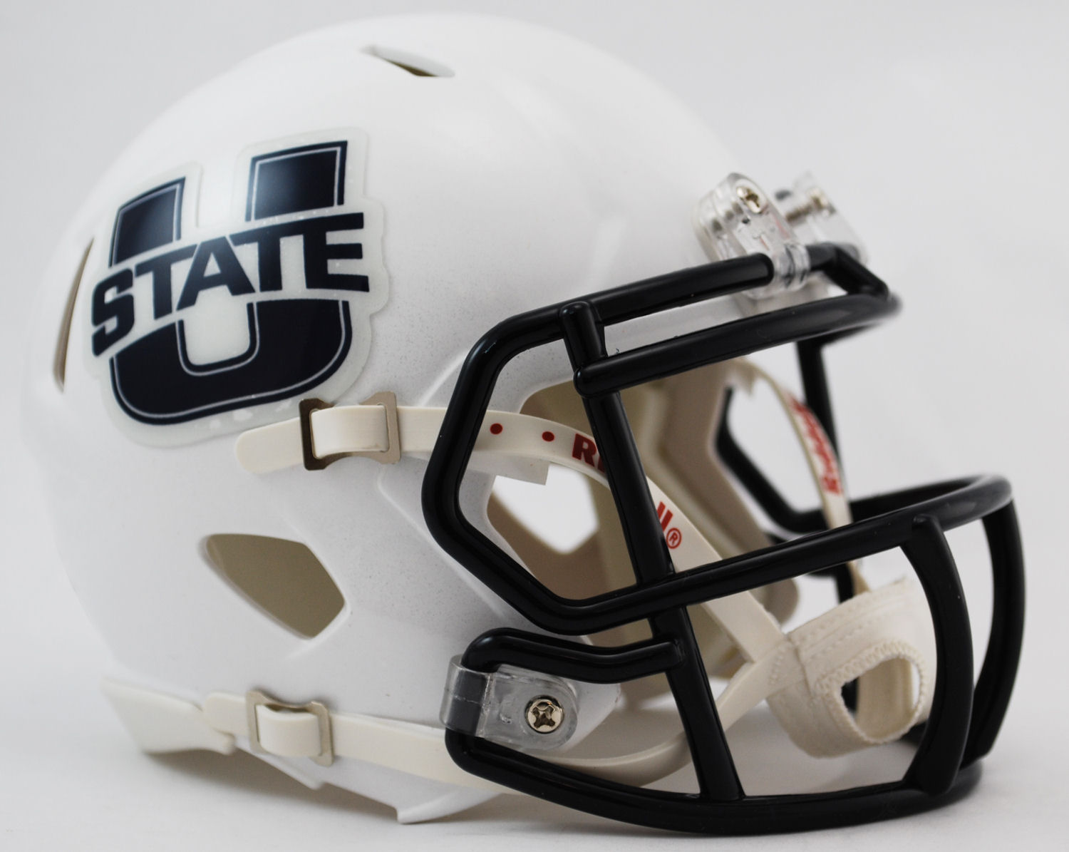 Utah State Aggies NCAA Mini Speed Football Helmet <B>Discontinued</B>