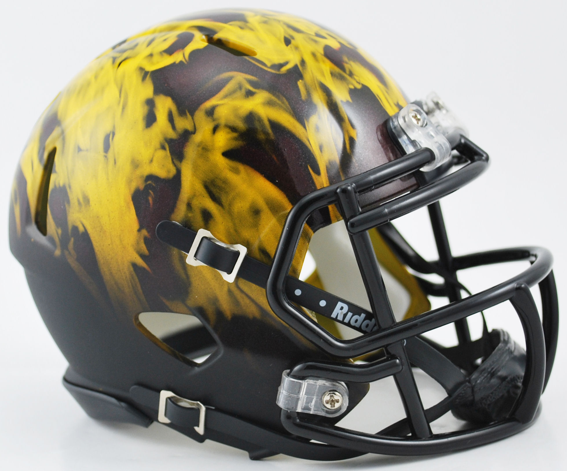 Arizona State Sun Devils NCAA Mini Speed Football Helmet <B>Flame Discontinued</B>