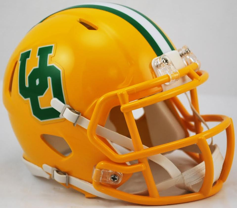 Oregon Ducks NCAA Mini Speed Football Helmet <B>Yellow Throwback</B>