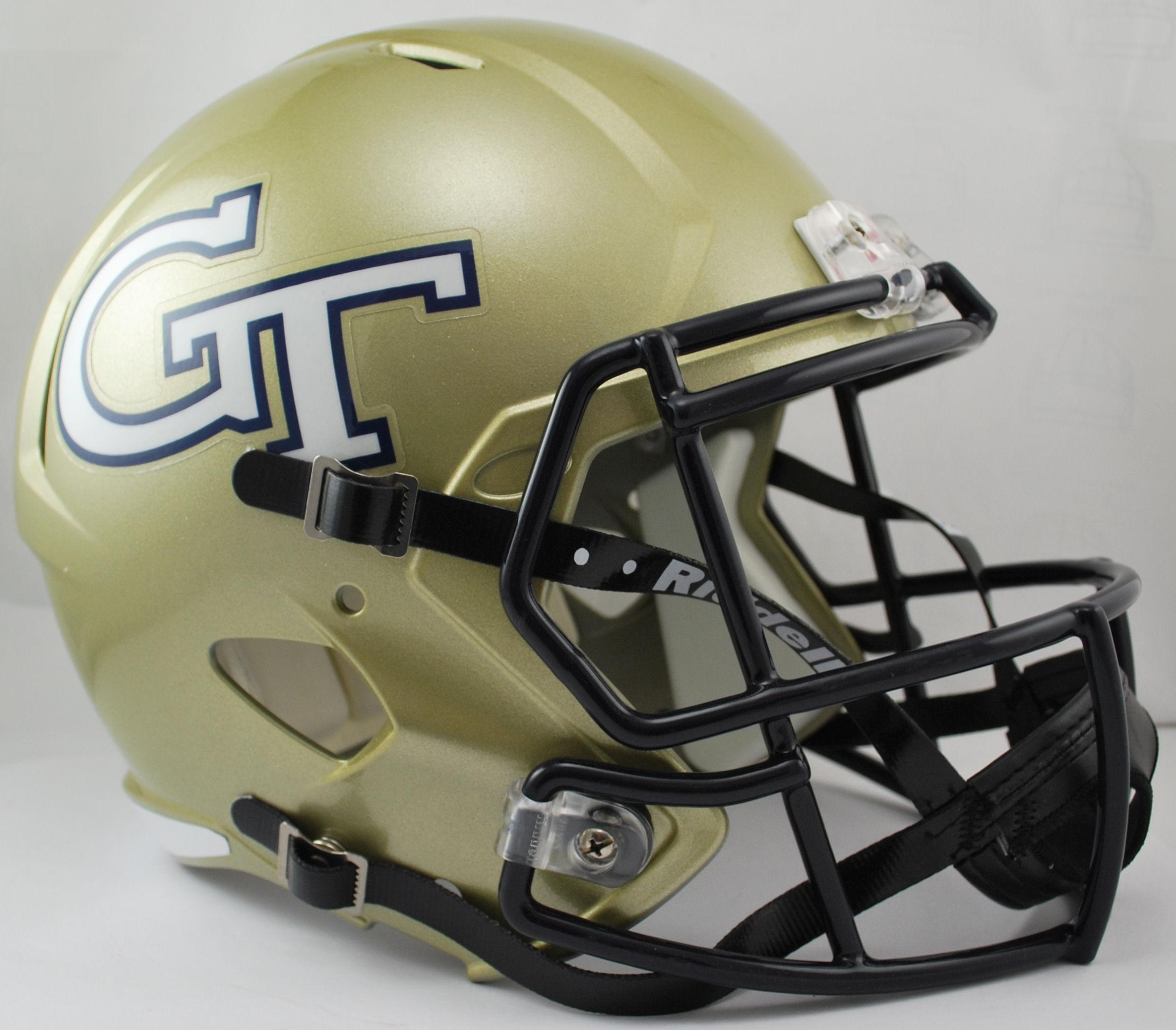 Georgia Tech Yellow Jackets Speed Replica Football Helmet