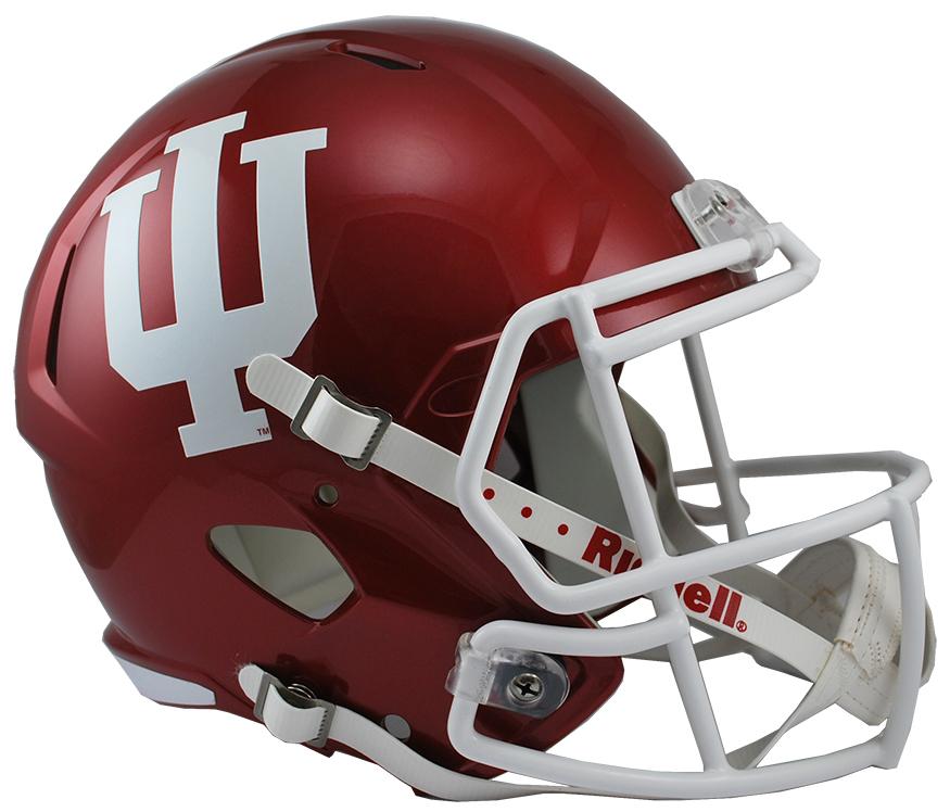 Indiana Hoosiers Speed Replica Football Helmet