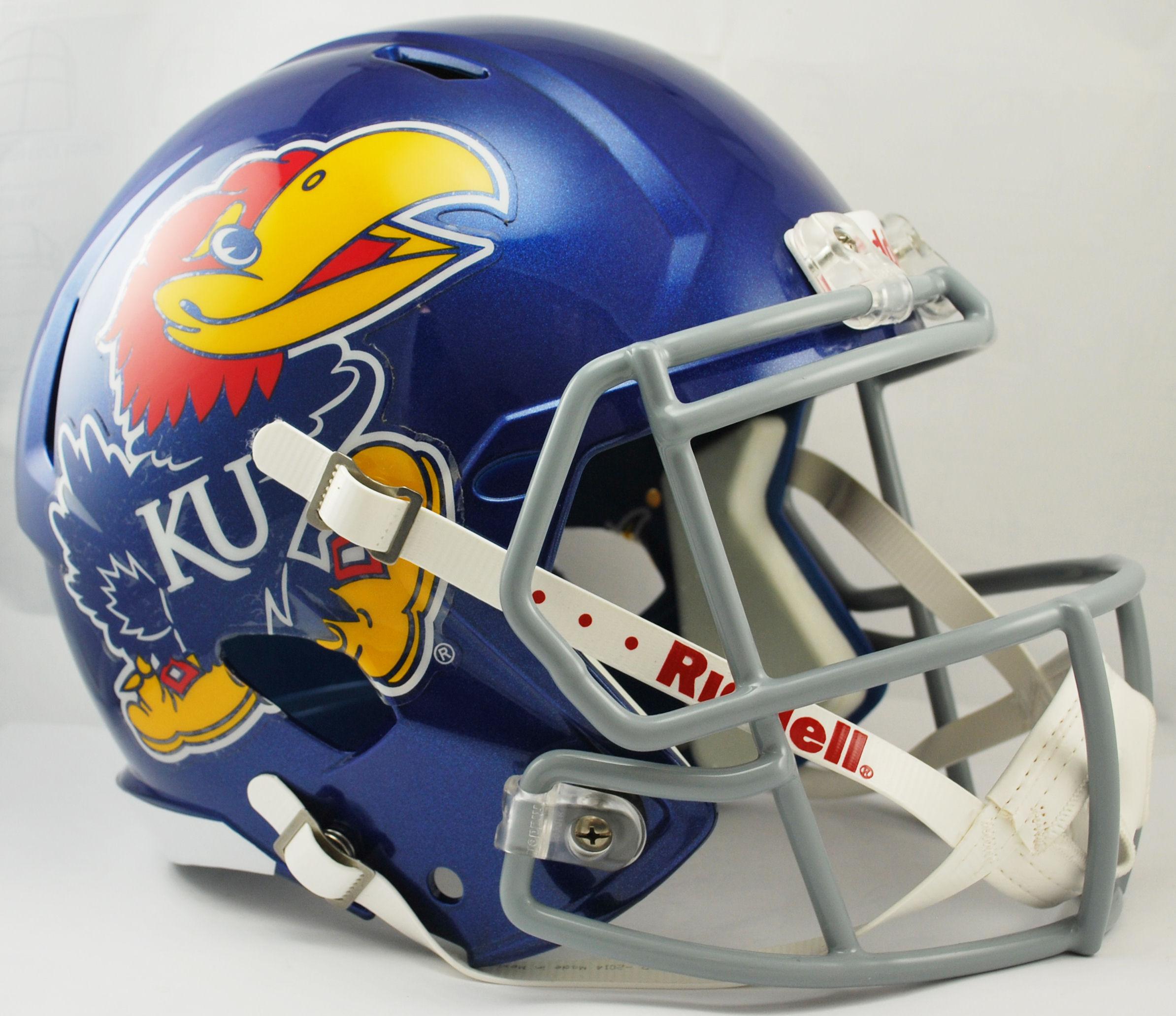 Kansas Jayhawks Speed Replica Football Helmet