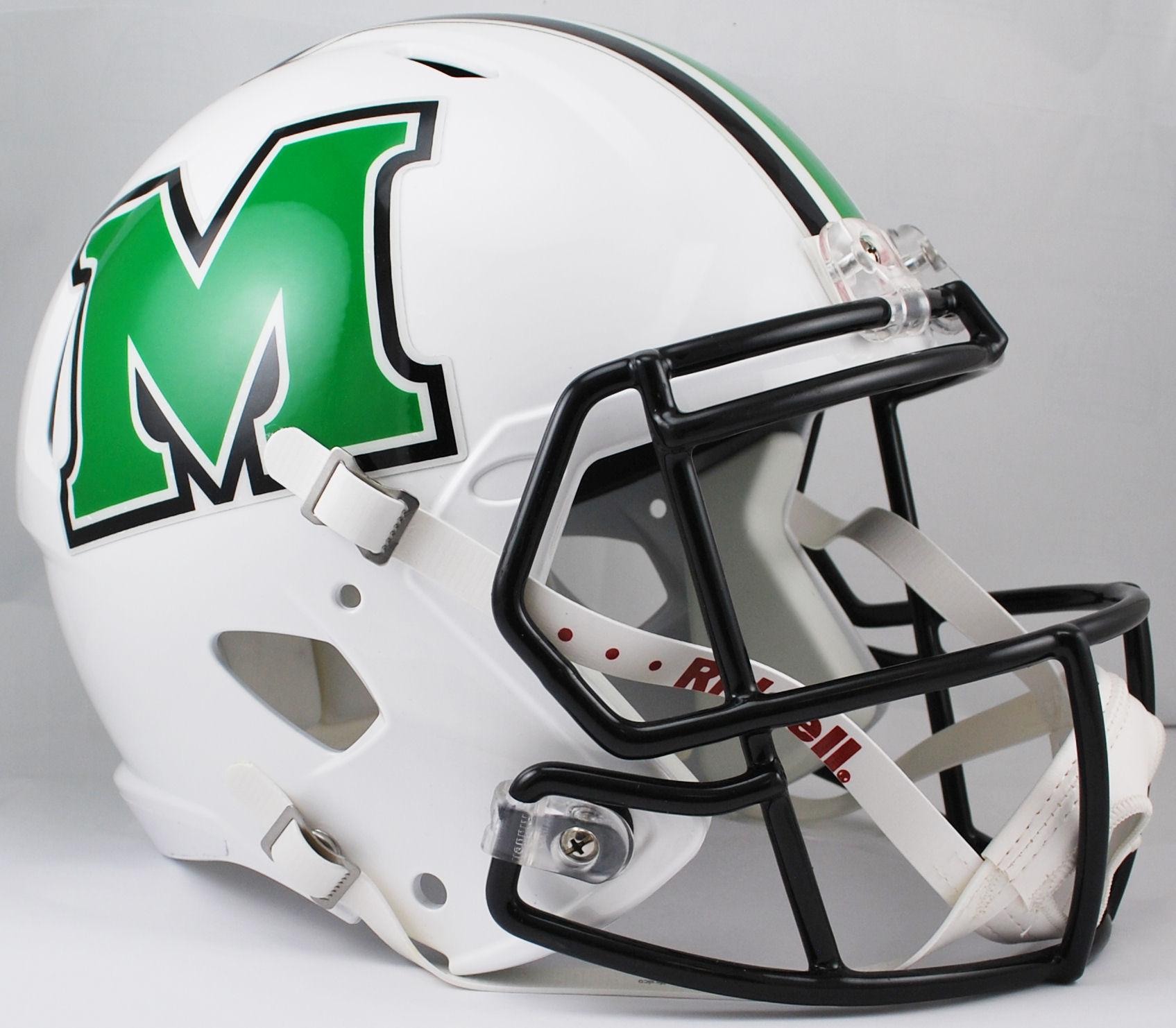 Marshall Thundering Herd Speed Replica Football Helmet