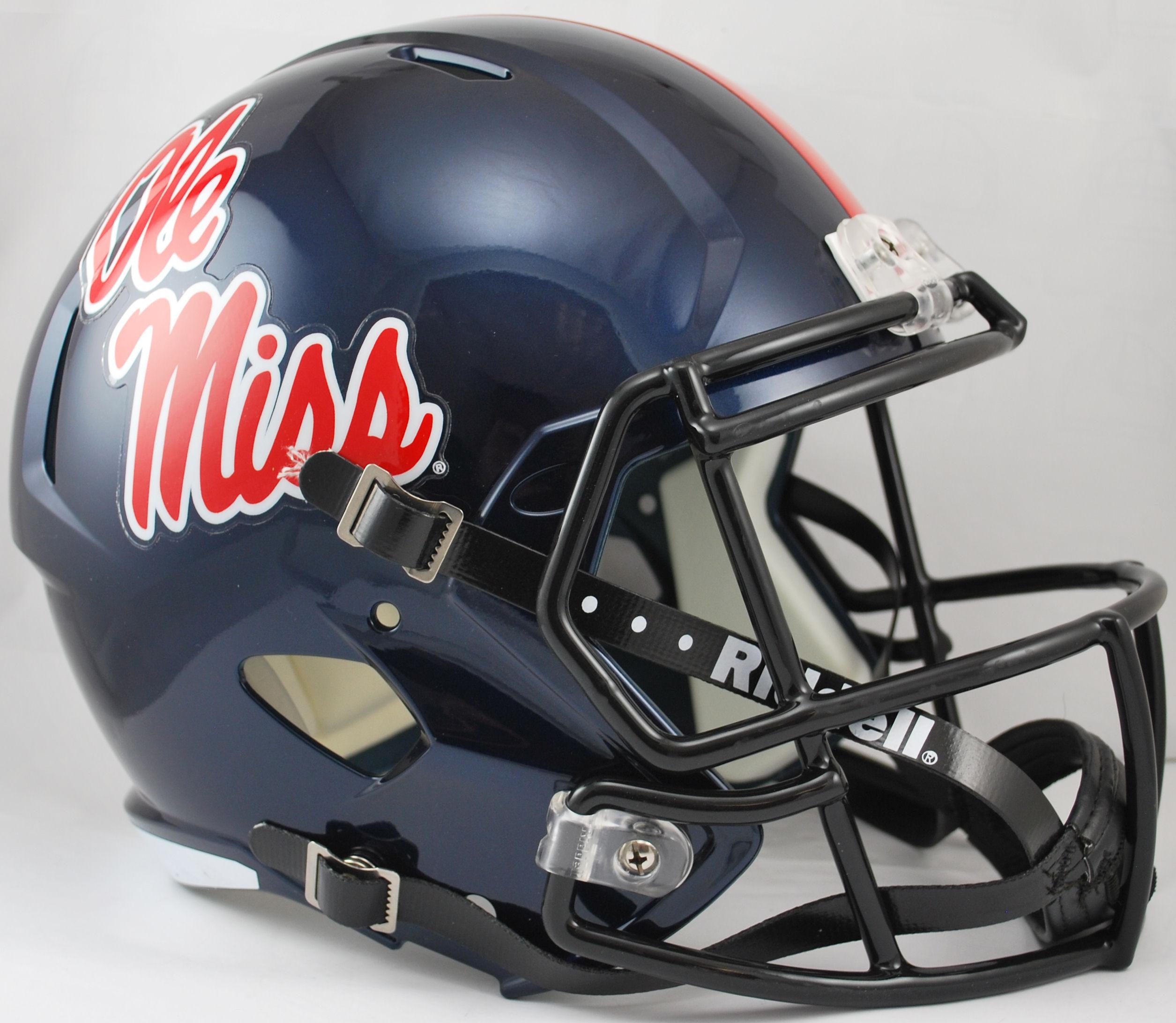 Mississippi (Ole Miss) Rebels Speed Replica Football Helmet