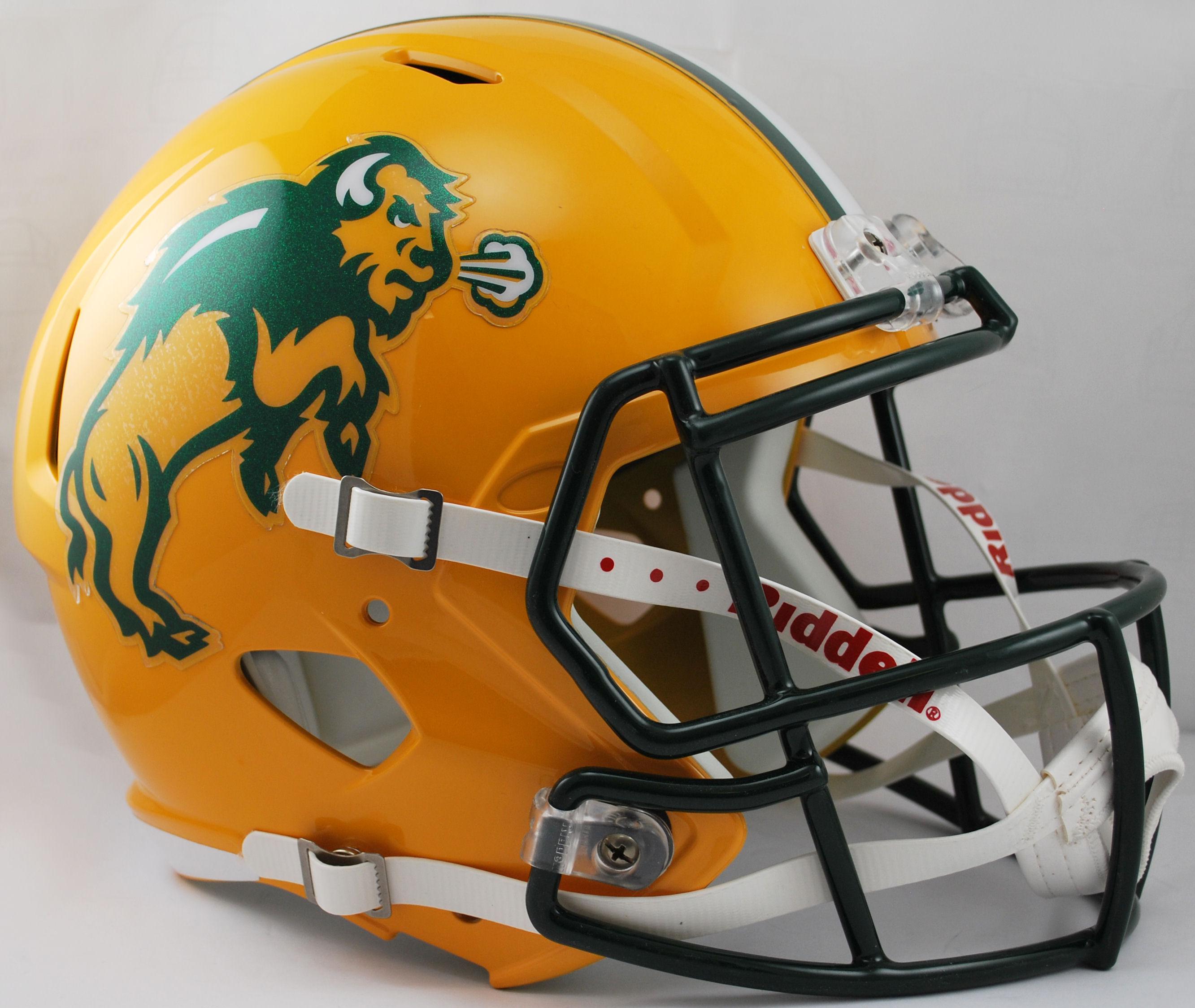 North Dakota State Bison Speed Replica Football Helmet