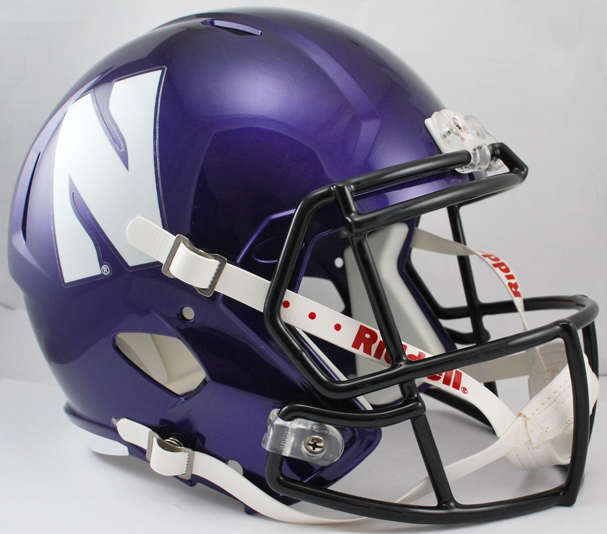 Northwestern Wildcats Speed Replica Football Helmet
