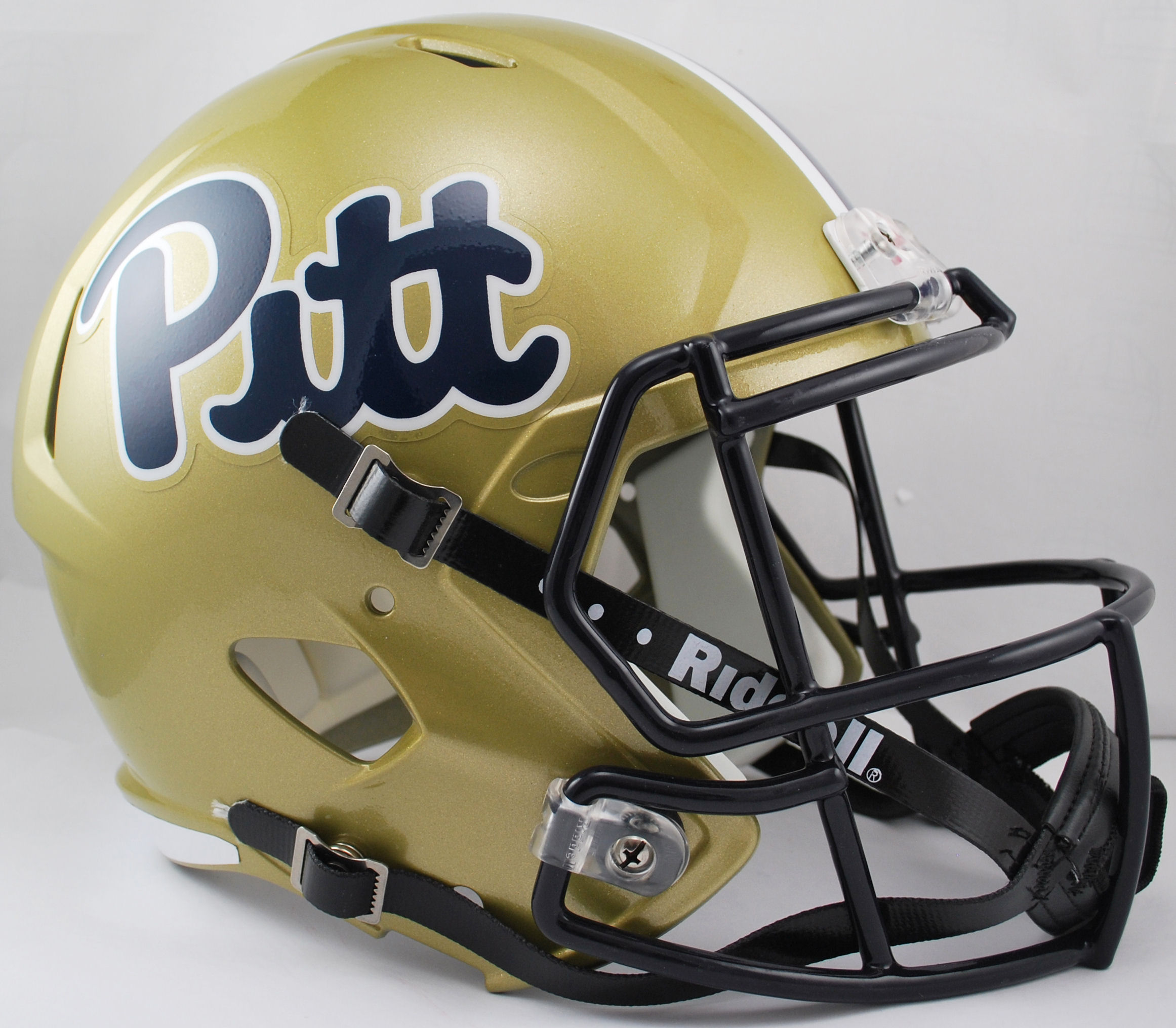 Pittsburgh Panthers Speed Replica Football Helmet <B>Pitt Script</B>