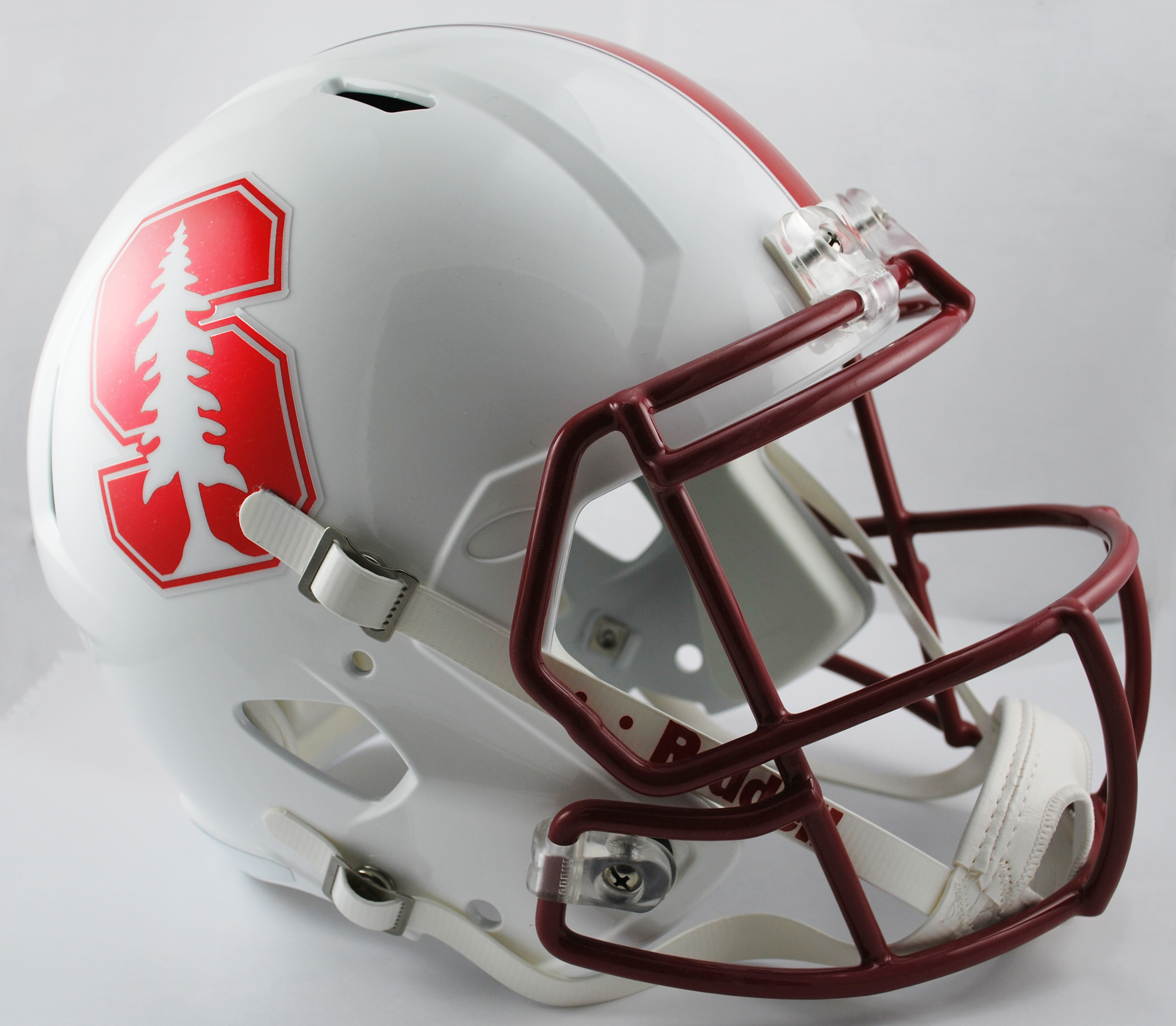 Stanford Cardinal Speed Replica Football Helmet <B>Chrome Decal</B>