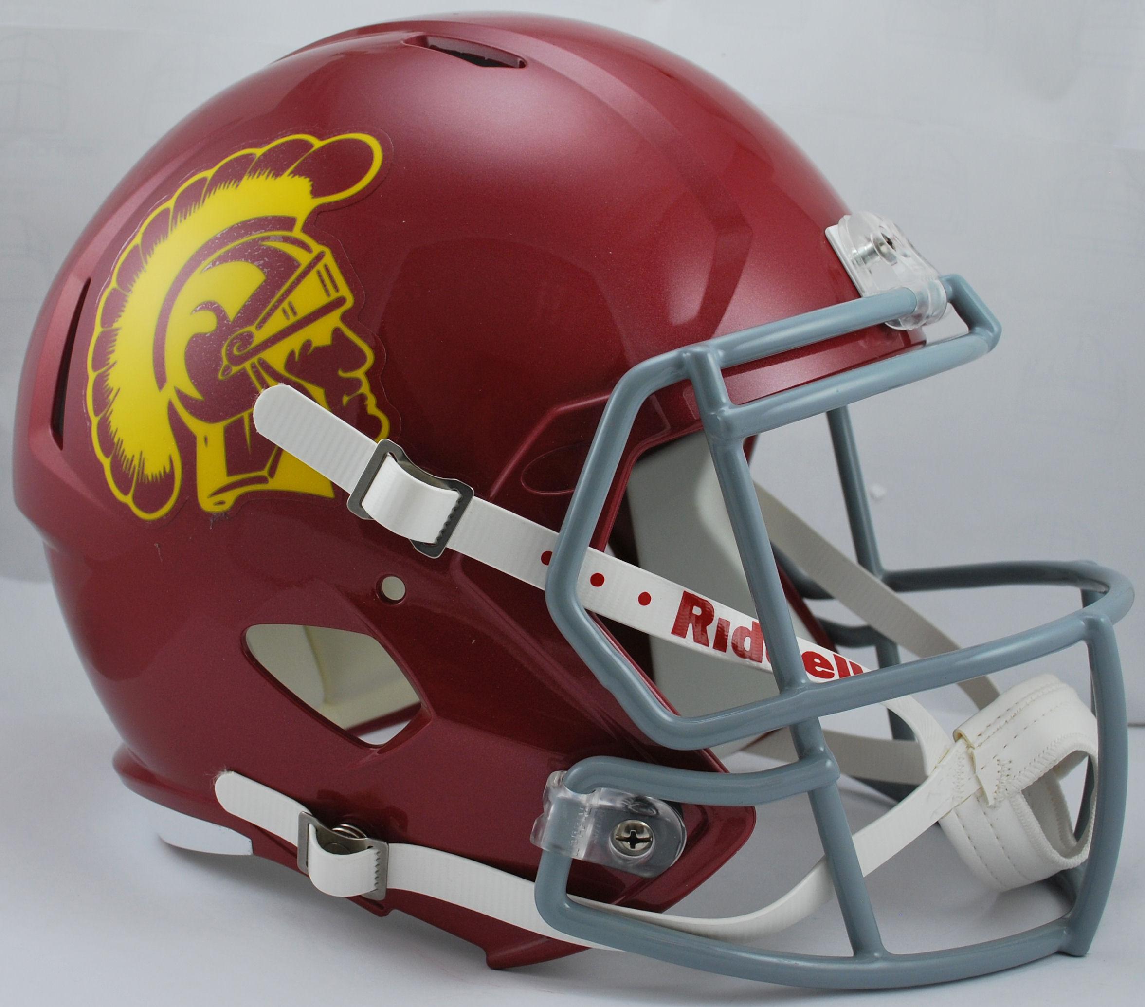 USC Trojans Speed Replica Football Helmet