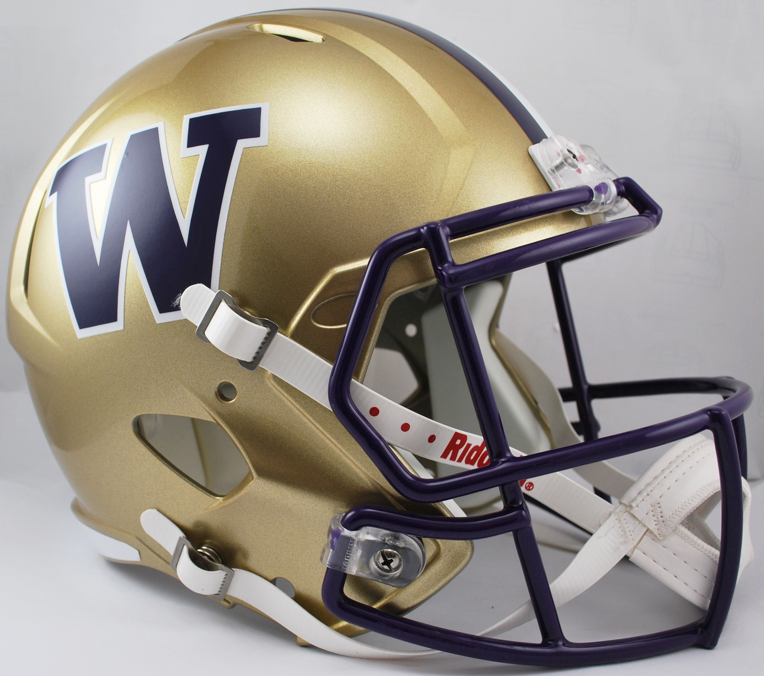 Washington Huskies Speed Replica Football Helmet