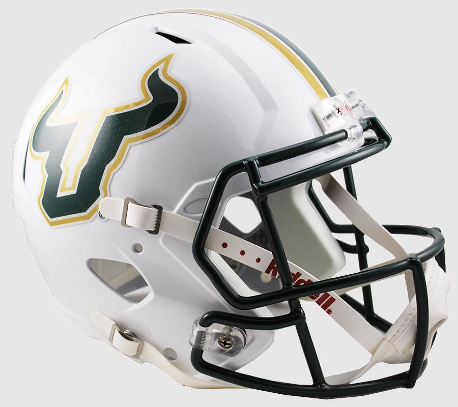 South Florida Bulls Speed Replica Football Helmet