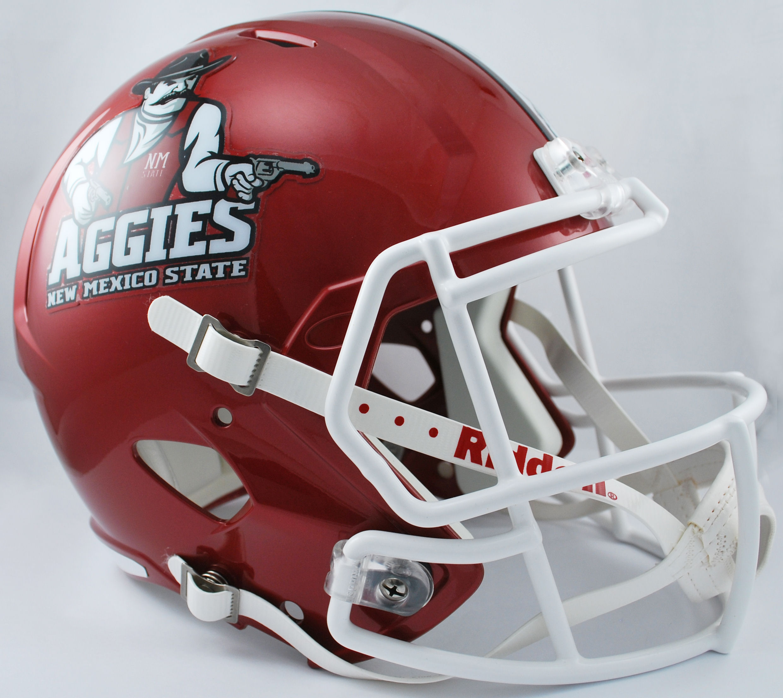 New Mexico State Aggies Speed Replica Football Helmet