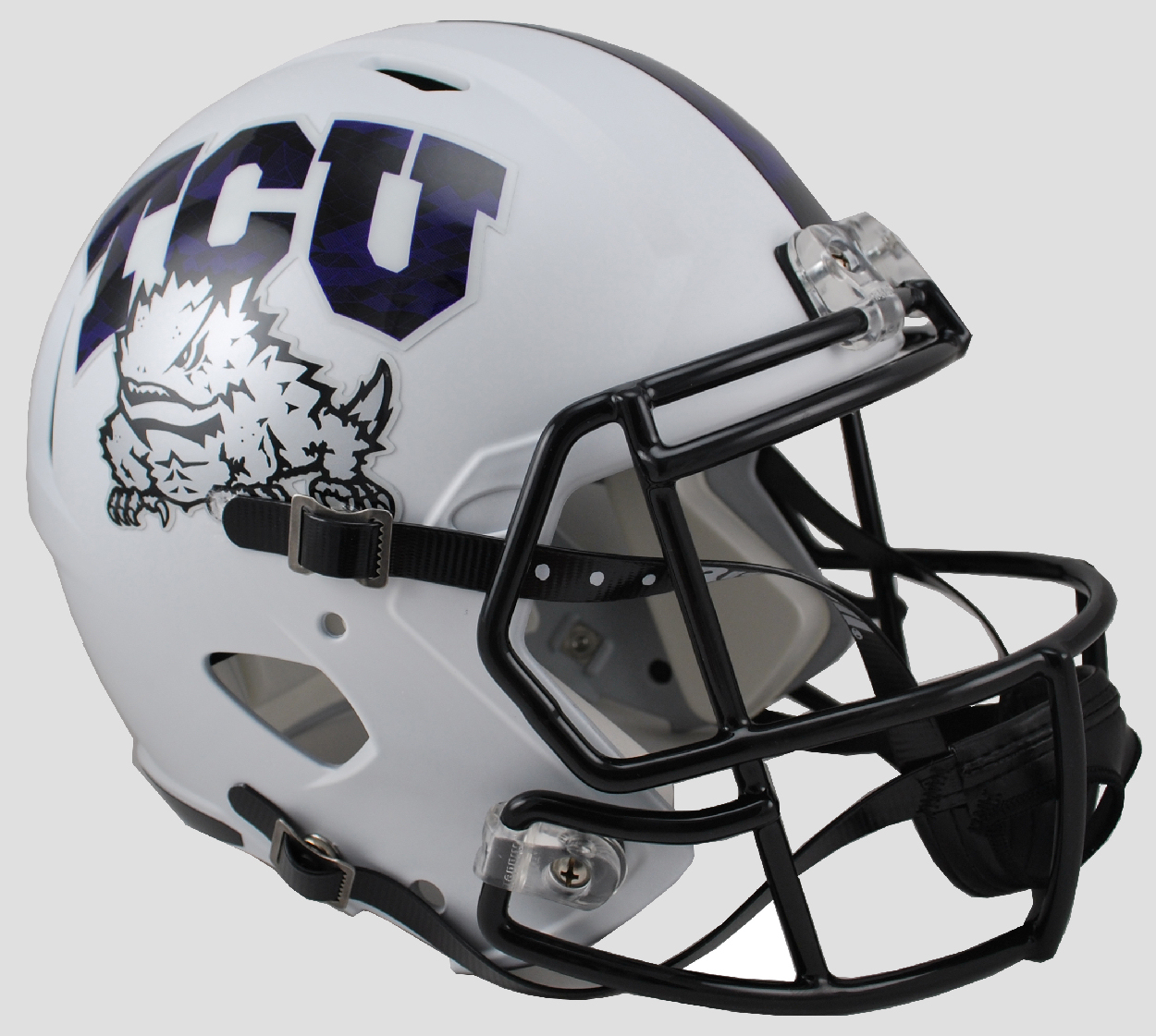Texas Christian Horned Frogs Speed Replica Football Helmet <B>Frog Skin</B>