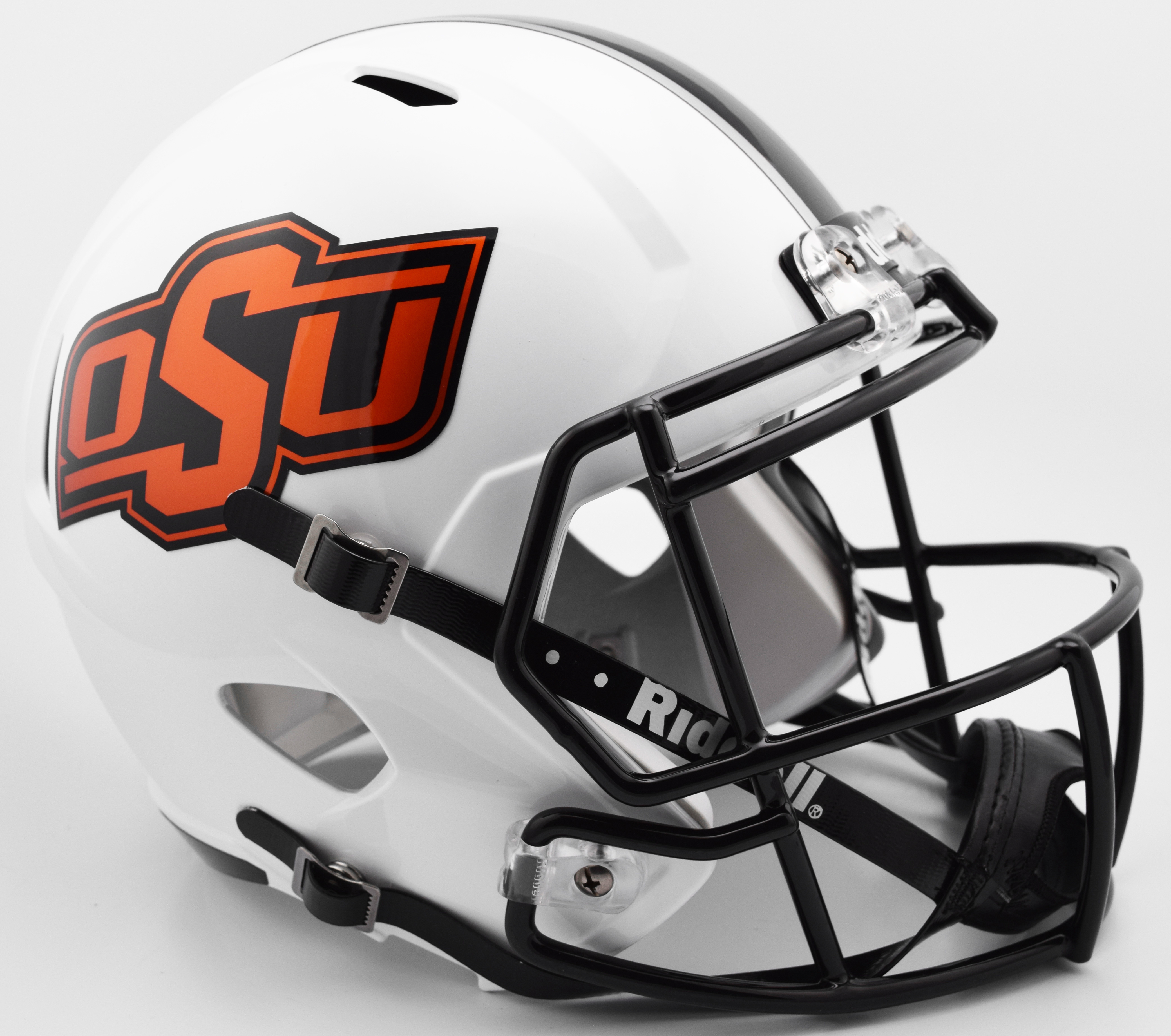 Oklahoma State Cowboys Speed Replica Football Helmet <B>White 2016</B>