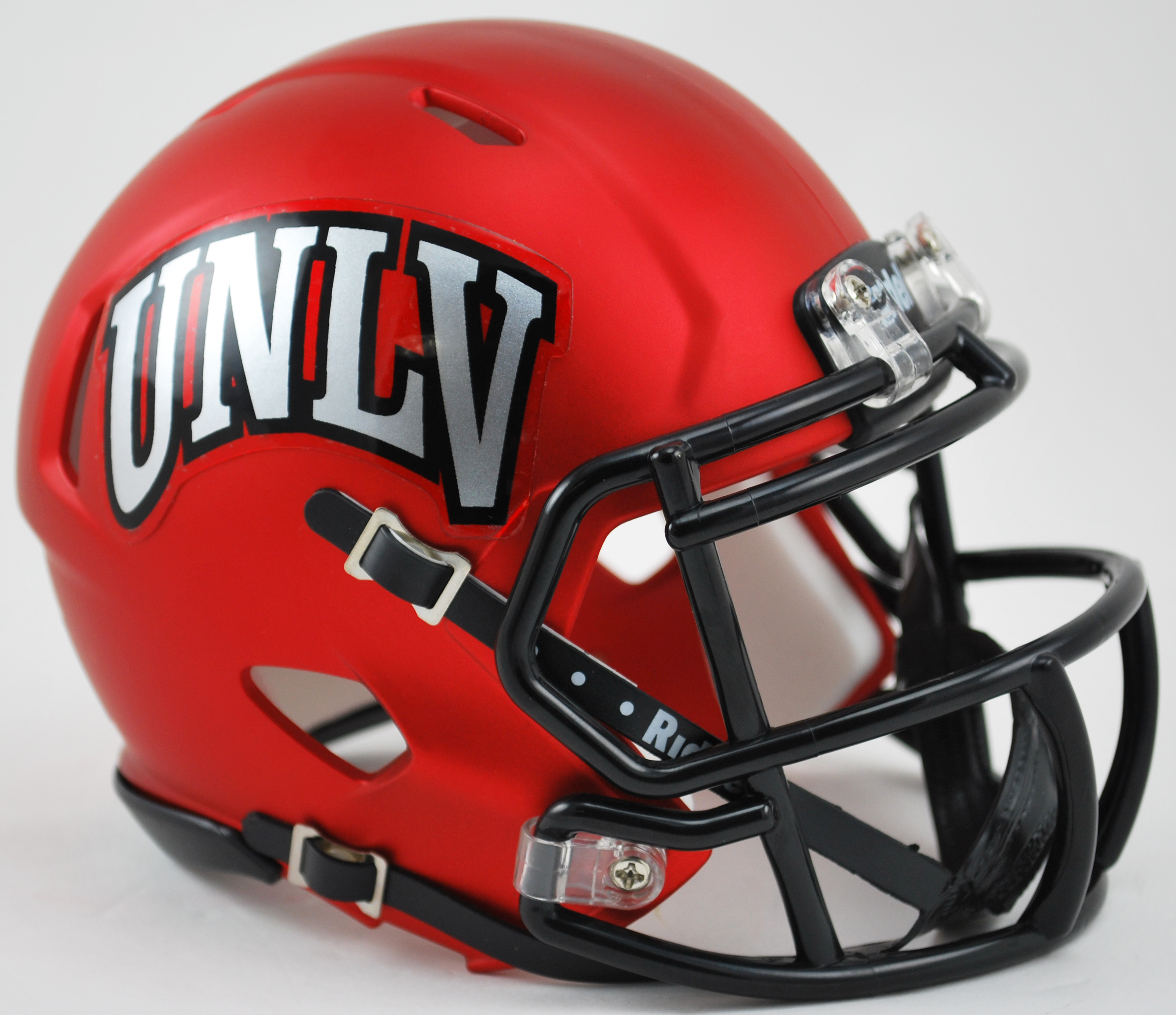 UNLV Runnin Rebels NCAA Mini Speed Football Helmet <B>Satin Red</B>