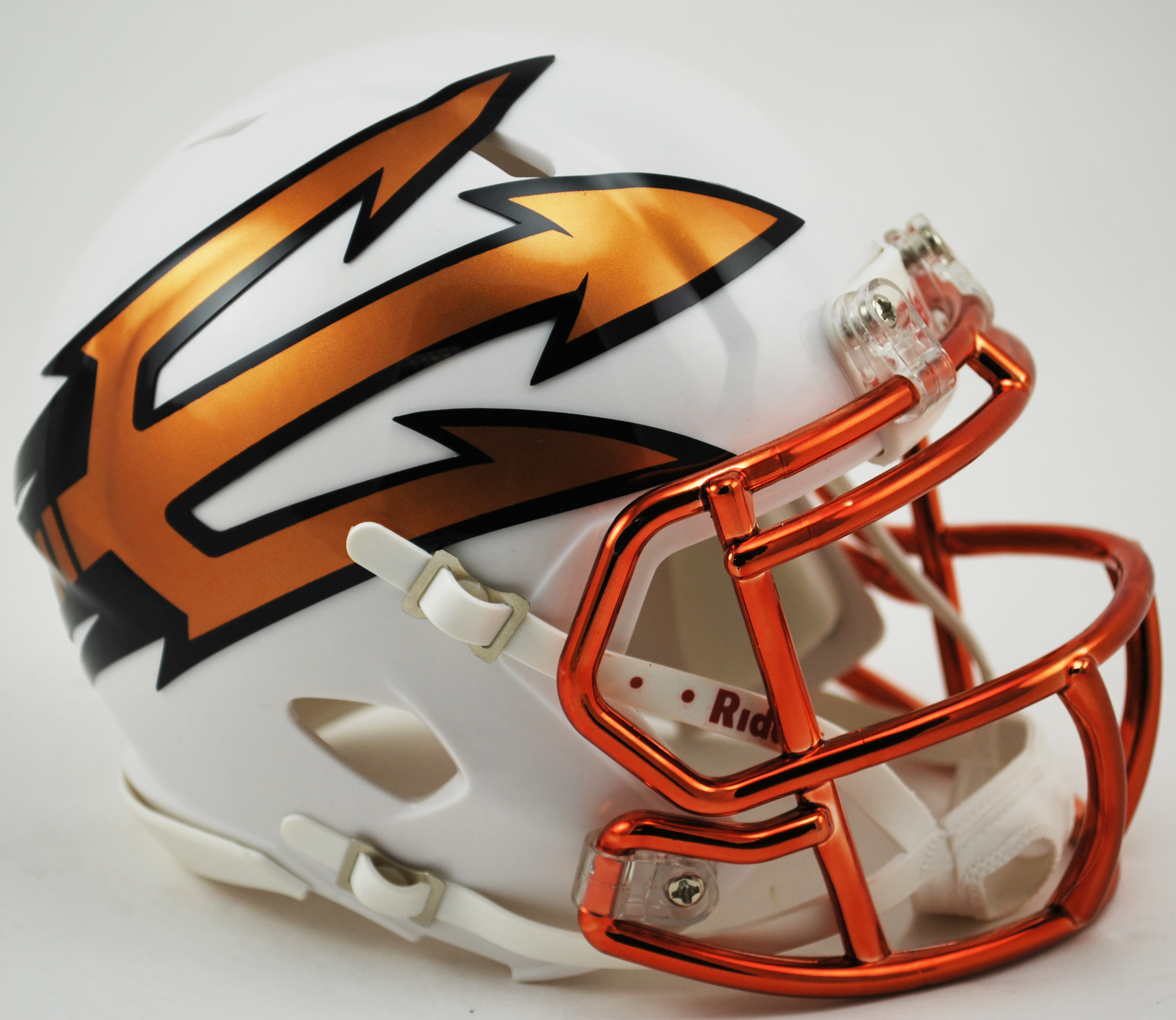 Arizona State Sun Devils NCAA Mini Speed Football Helmet <B>Desert Ice</B>