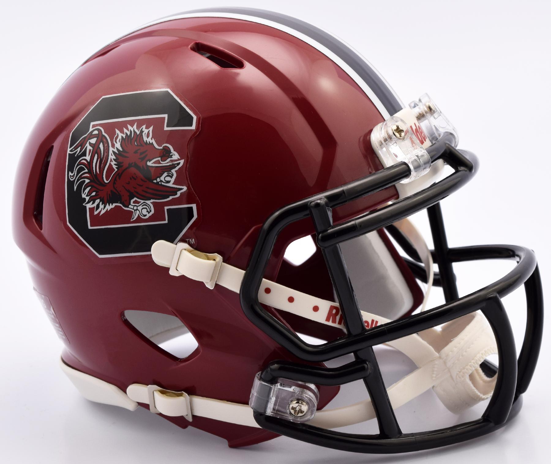 South Carolina Gamecocks NCAA Mini Speed Football Helmet <B>2016</B>
