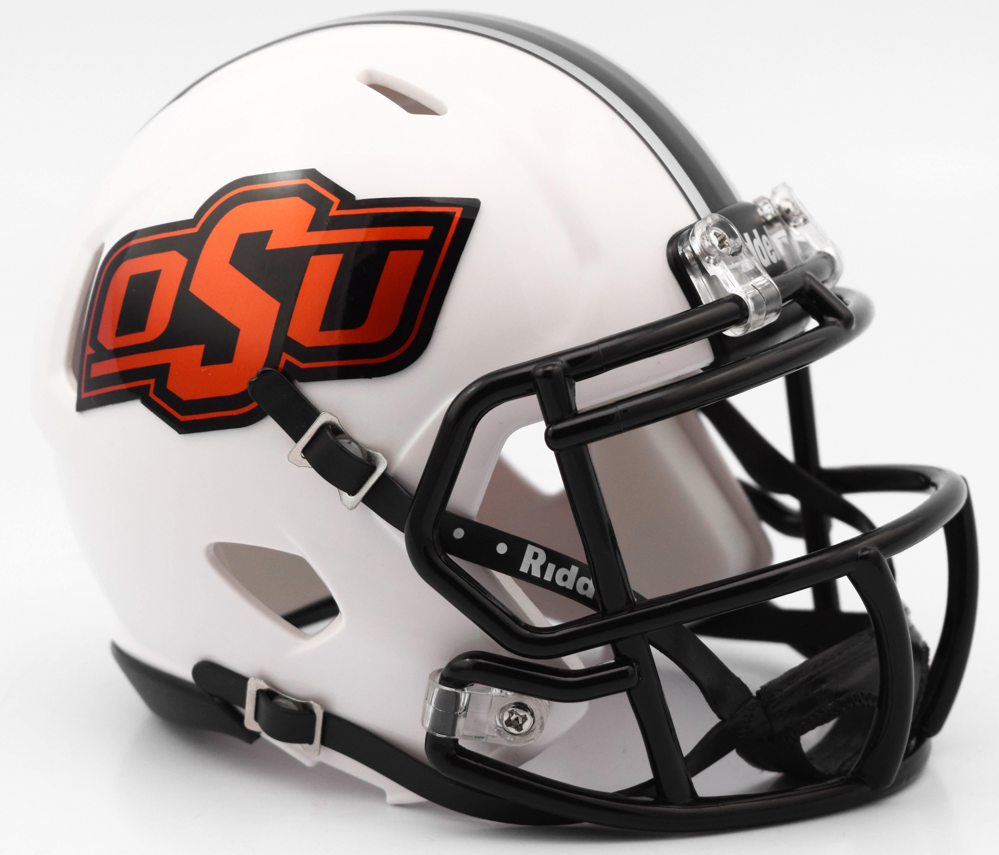 Oklahoma State Cowboys NCAA Mini Speed Football Helmet <B>White 2016</B>