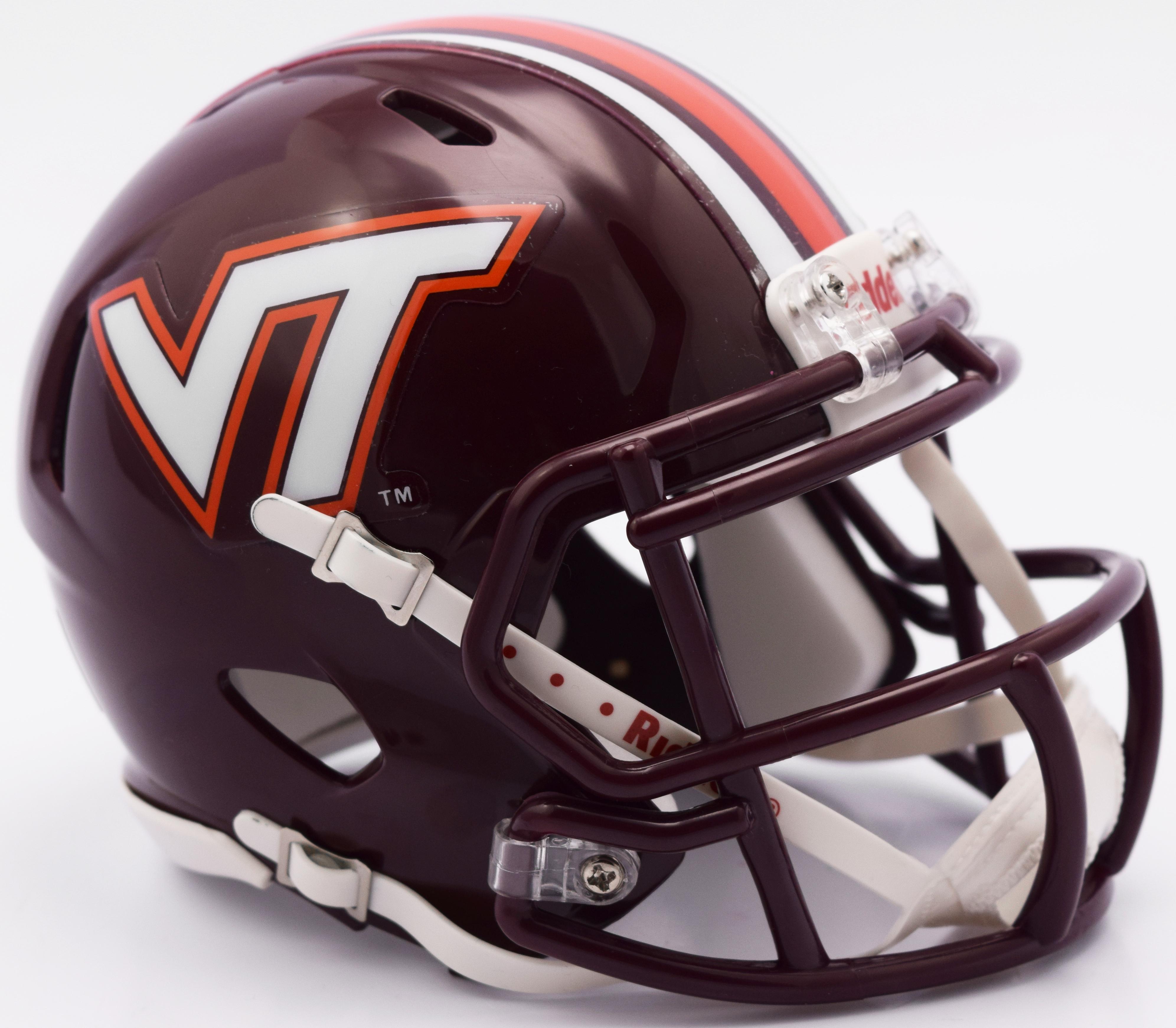 Virginia Tech Hokies NCAA Mini Speed Football Helmet