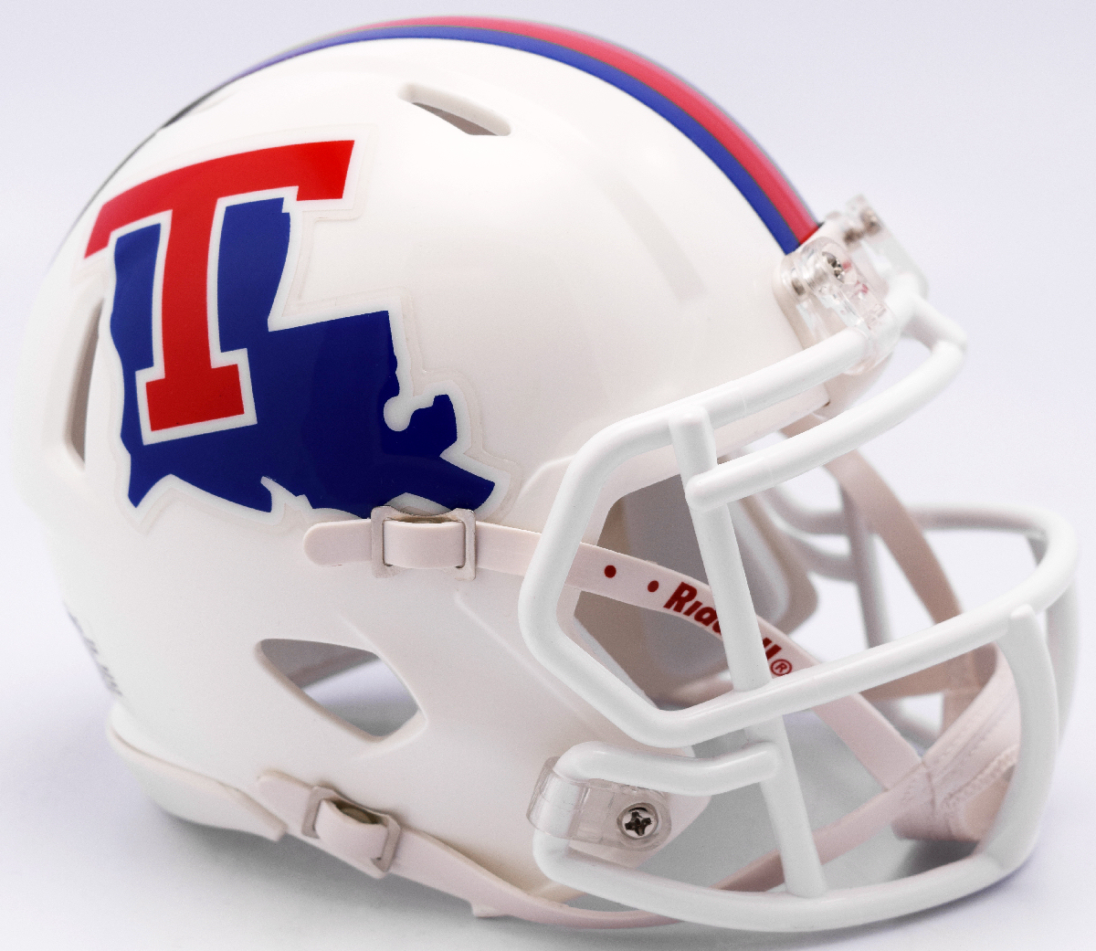 Louisiana Tech Bulldogs NCAA Mini Speed Football Helmet <B>White</B>