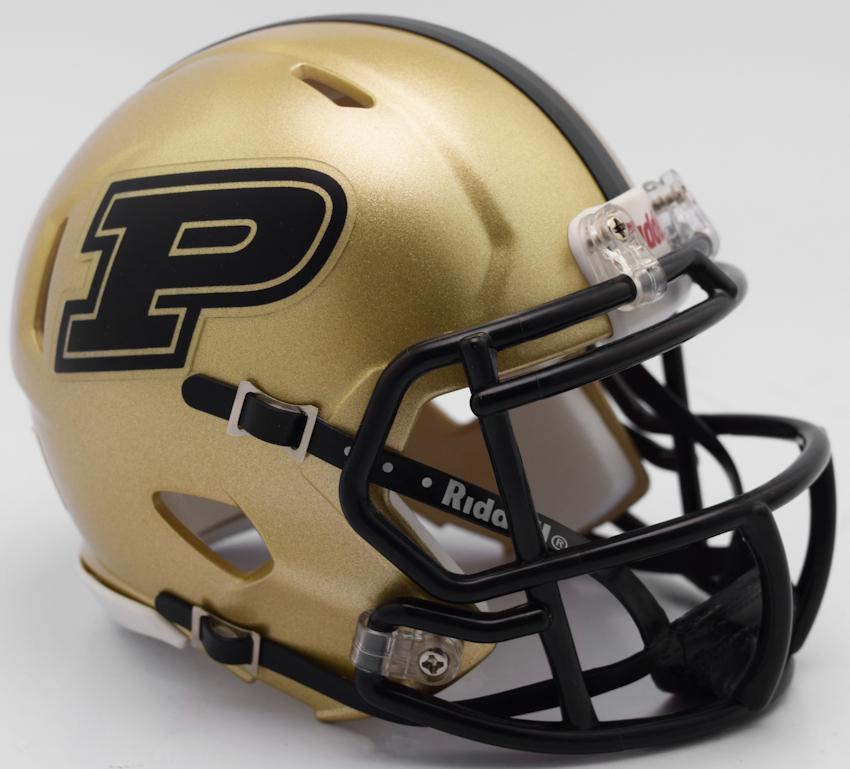 Purdue Boilermakers NCAA Mini Speed Football Helmet <B>2017</B>