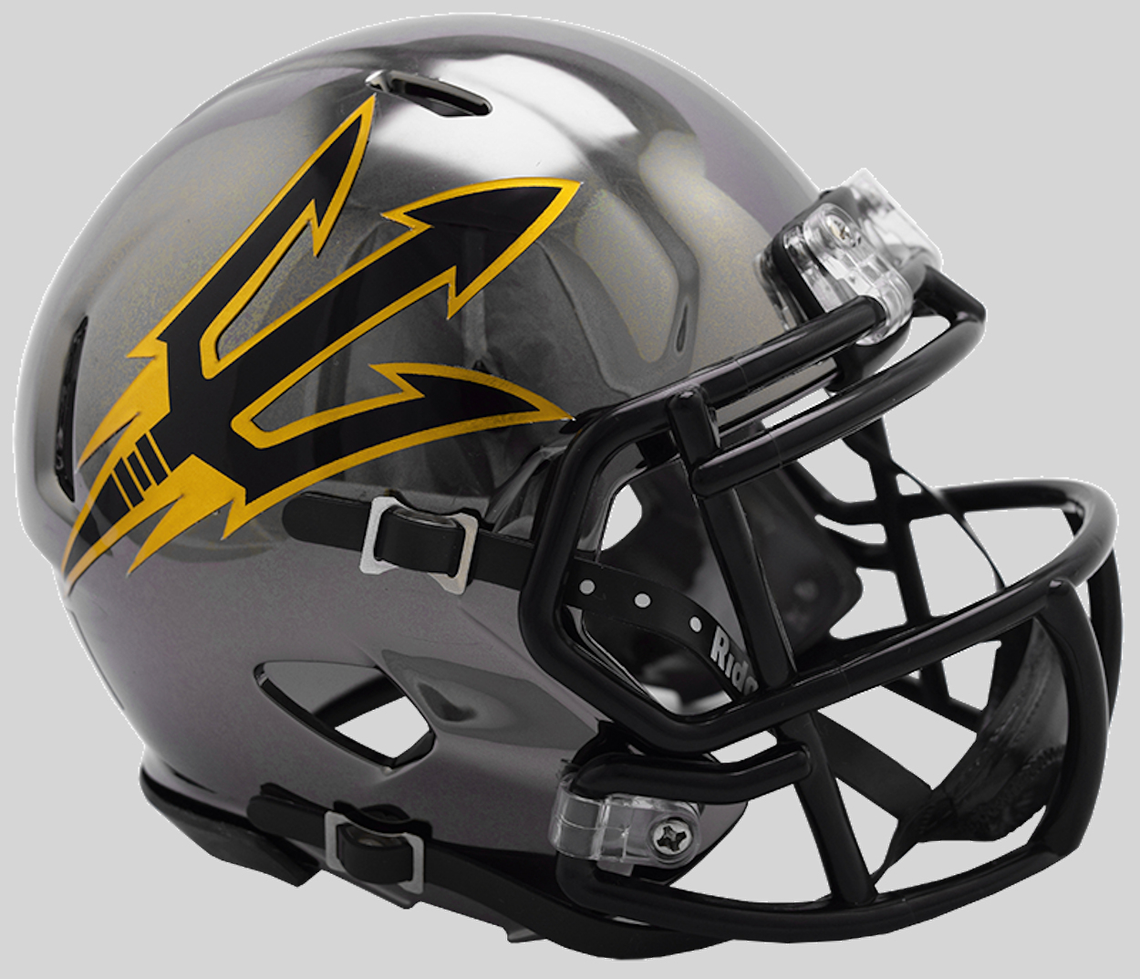 Arizona State Sun Devils NCAA Mini Chrome Speed Football Helmet <B>NEW 2018 Chrome</B>