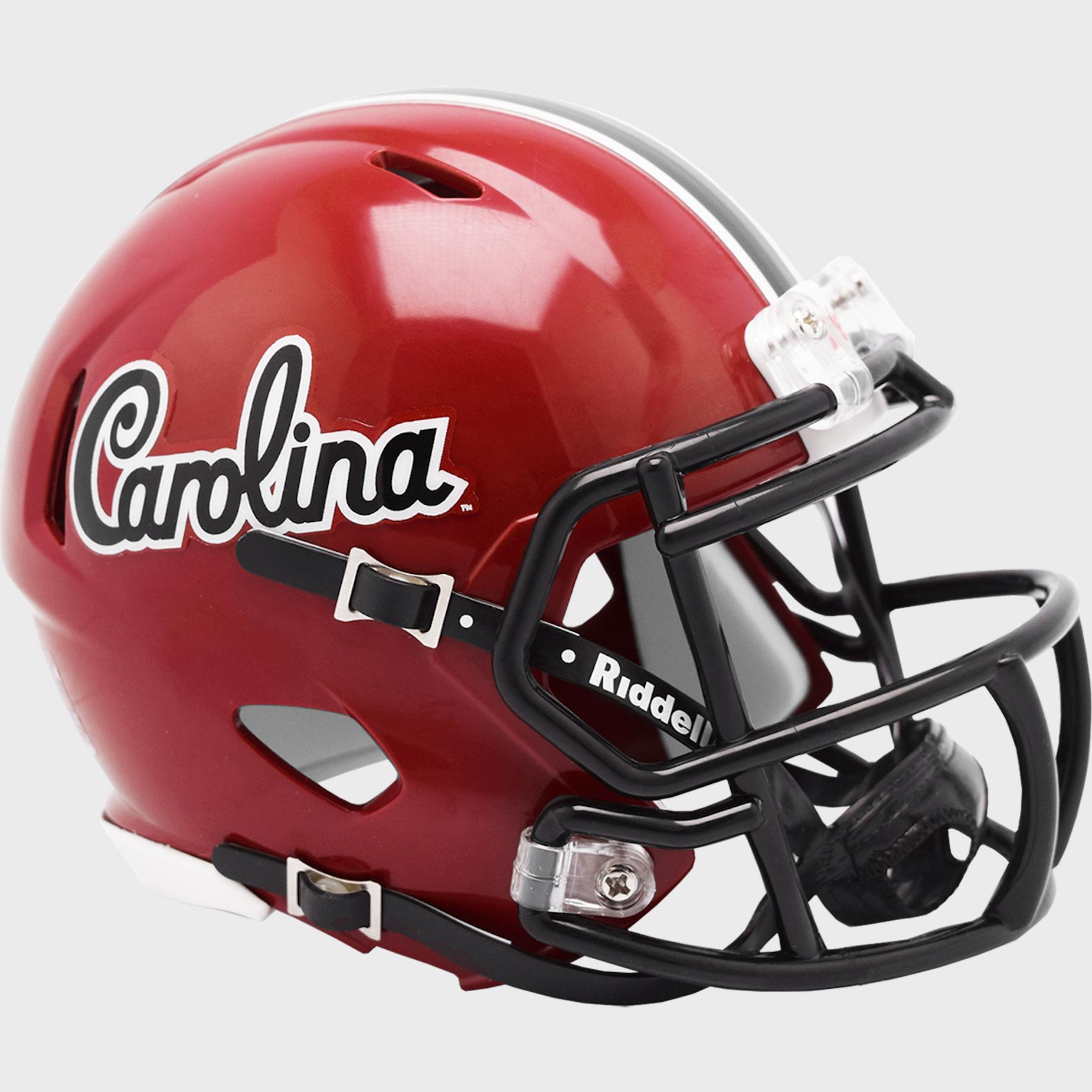 South Carolina Gamecocks NCAA Mini Speed Football Helmet <B>2018 Script</B>
