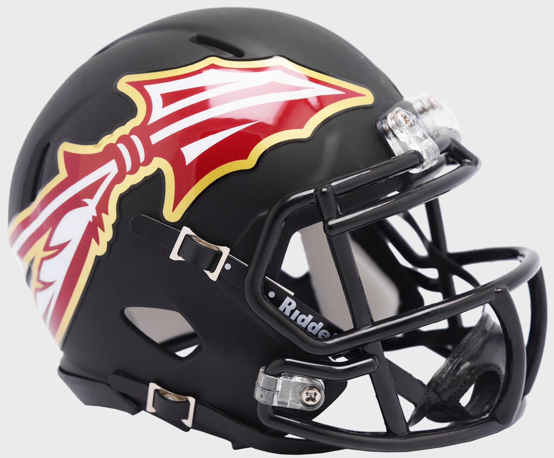 Florida State Seminoles Speed Mini Football Helmet <B>AMP </B>