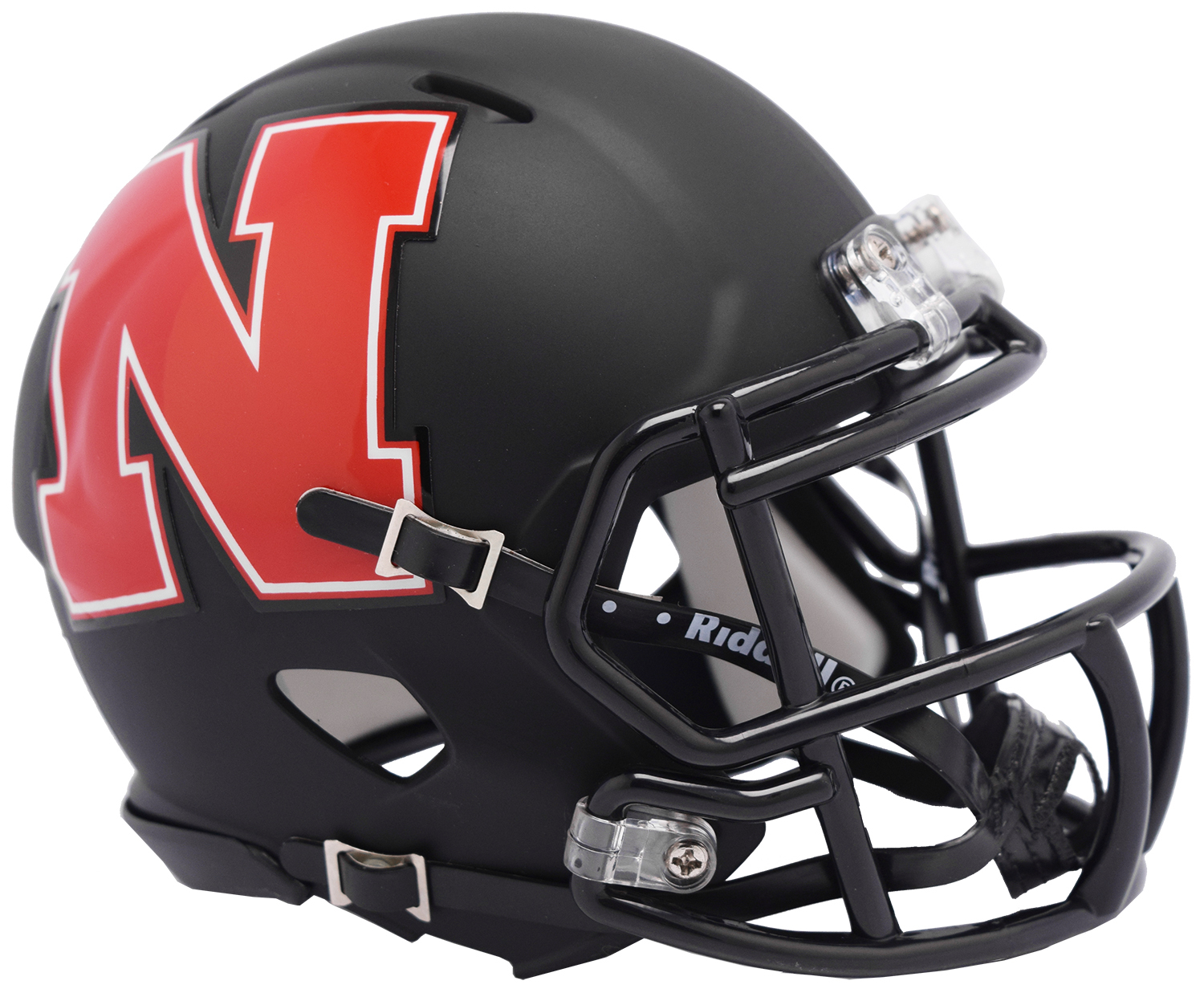 Nebraska Cornhuskers Speed Mini Football Helmet <B>AMP </B>