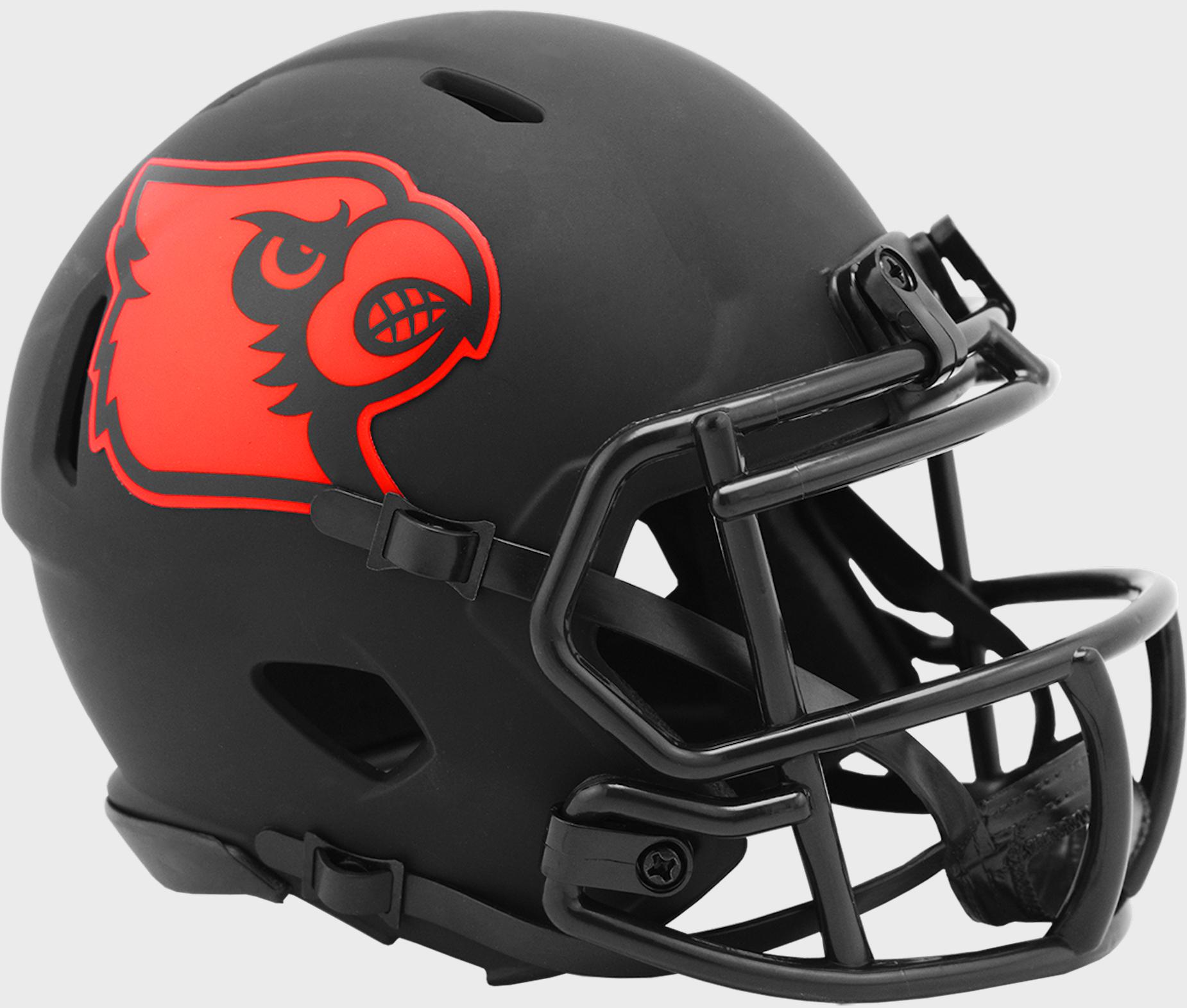 Louisville Cardinals Mini Speed Football Helmet <B>ECLIPSE</B>
