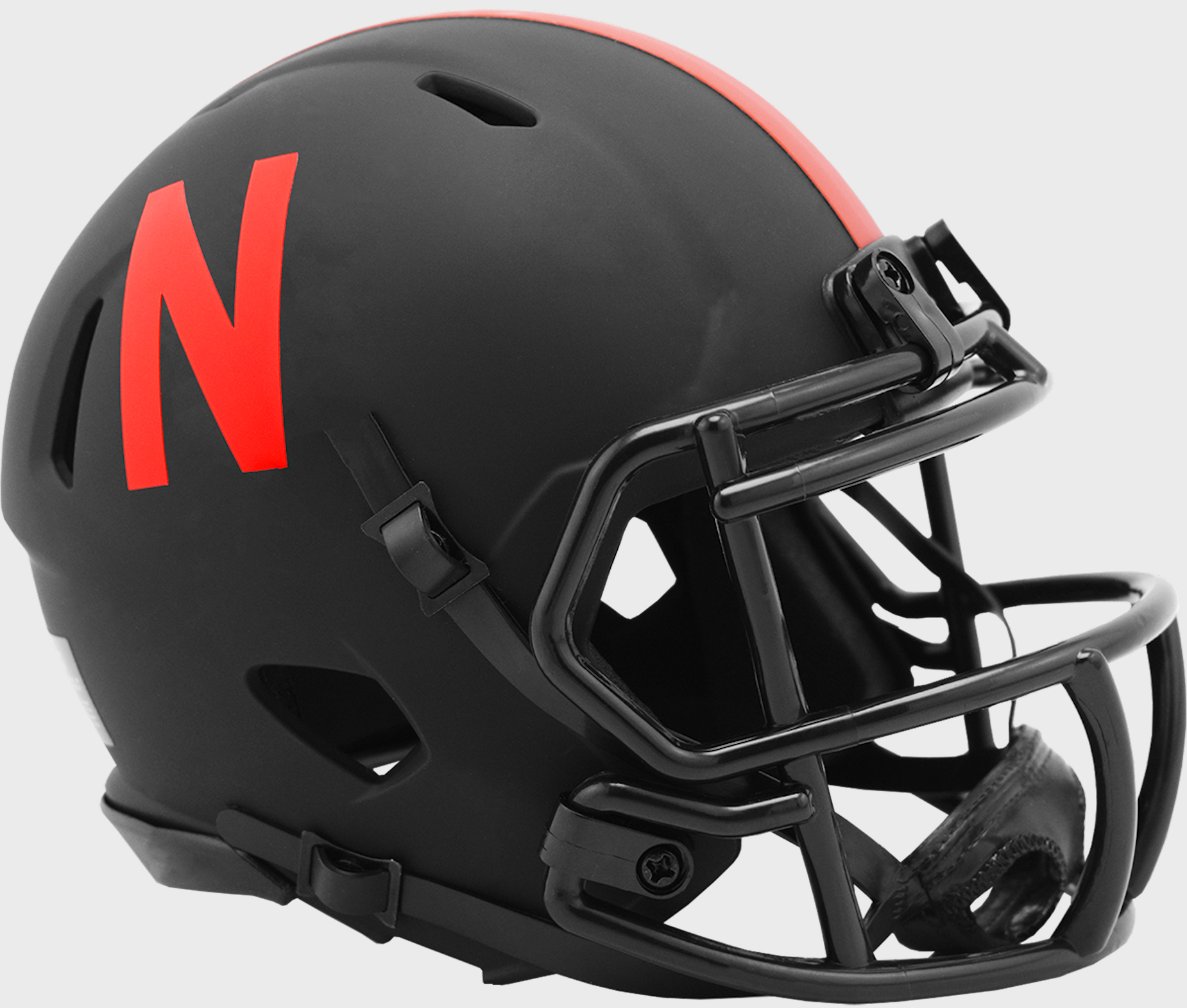 Nebraska Cornhuskers Mini Speed Football Helmet <B>ECLIPSE</B>