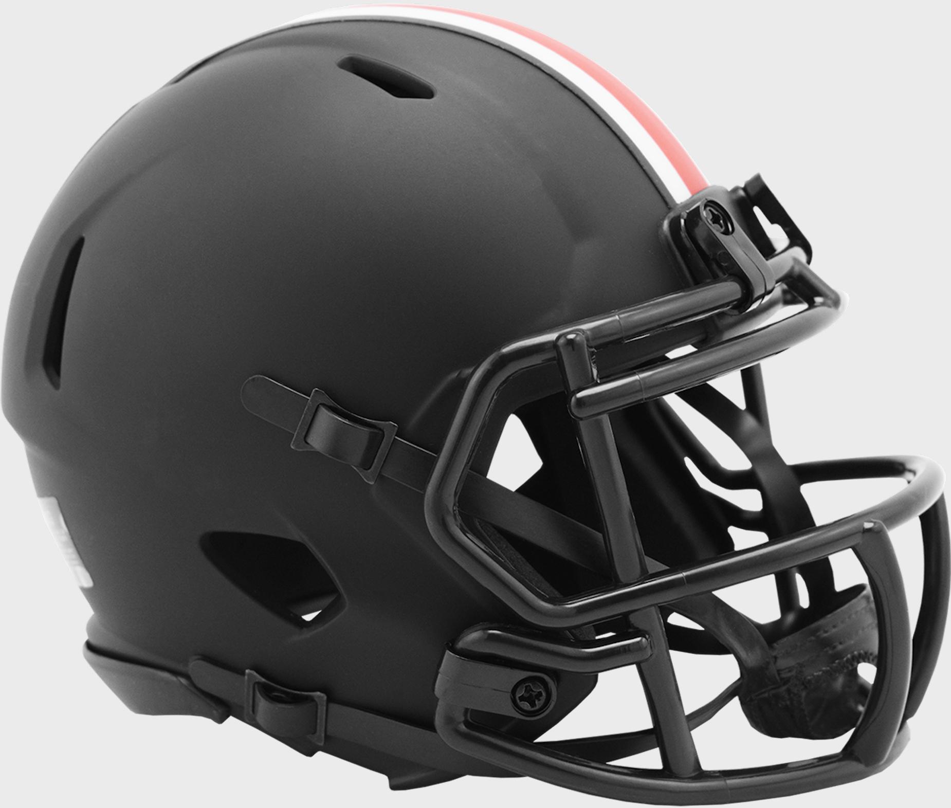 Ohio State Buckeyes Mini Speed Football Helmet <B>ECLIPSE</B>