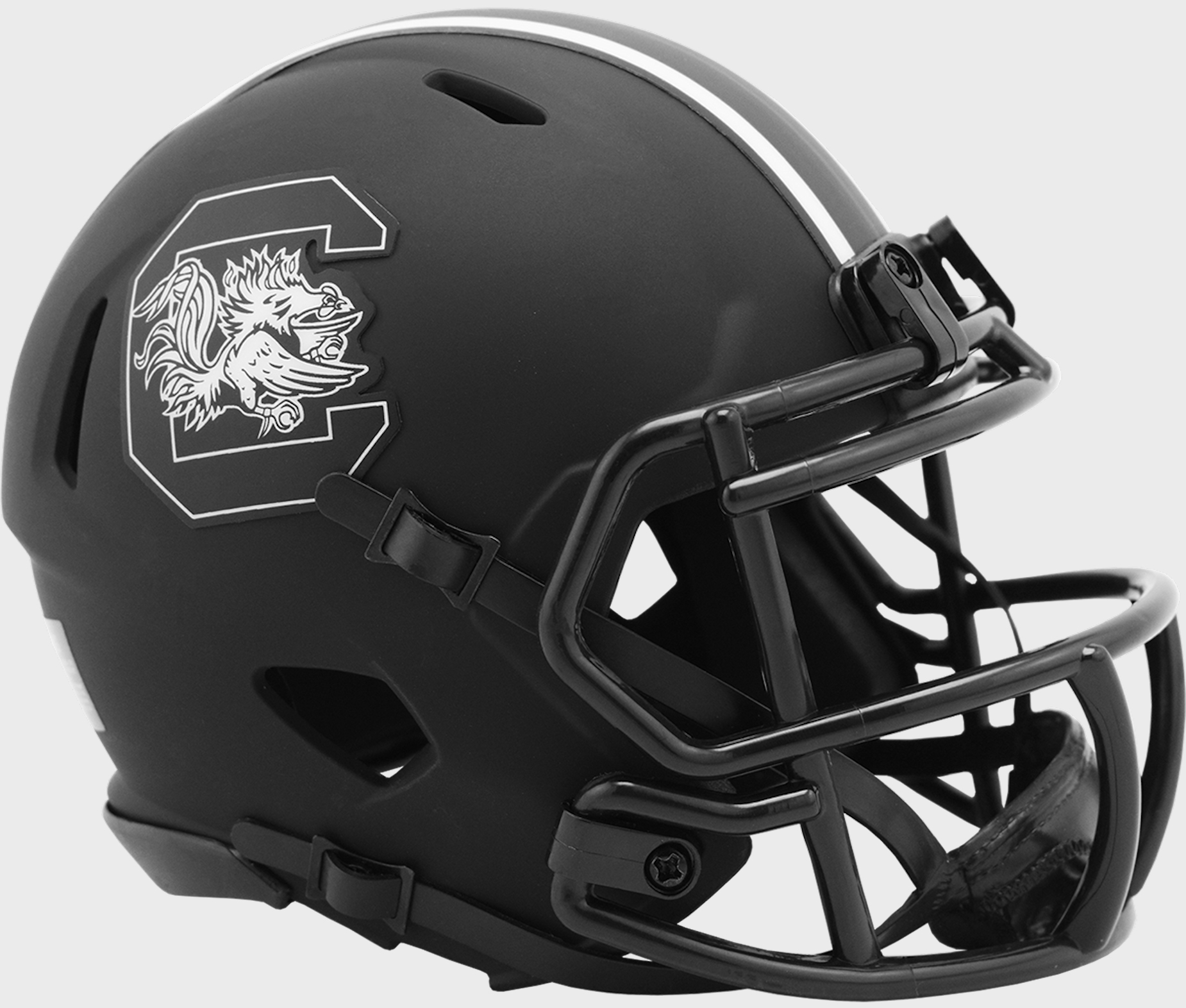South Carolina Gamecocks Mini Speed Football Helmet <B>ECLIPSE</B>