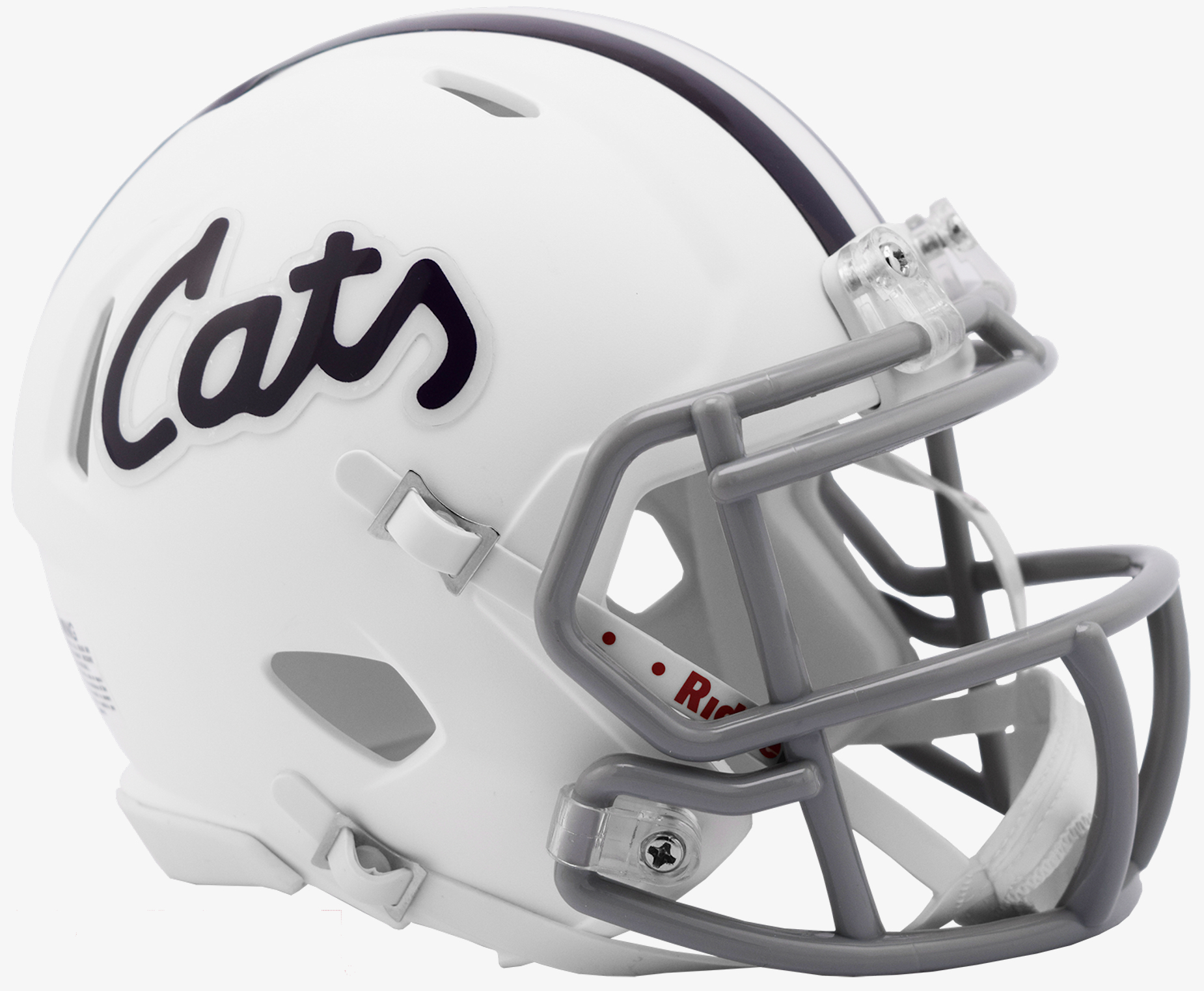 Kansas State Wildcats NCAA Mini Speed Football Helmet <B>Cats Limited</B>