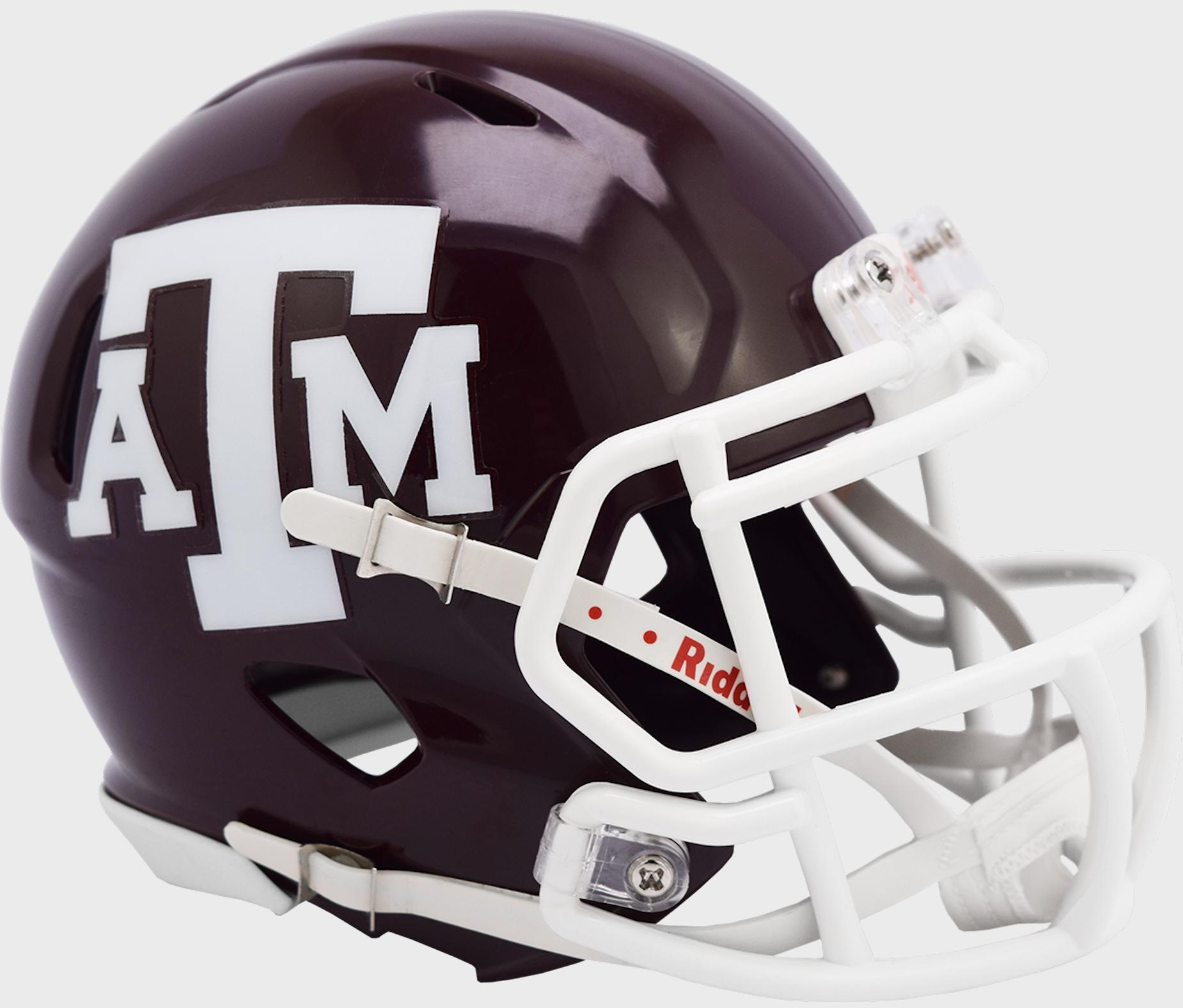 Texas A&M Aggies NCAA Mini Speed Football Helmet