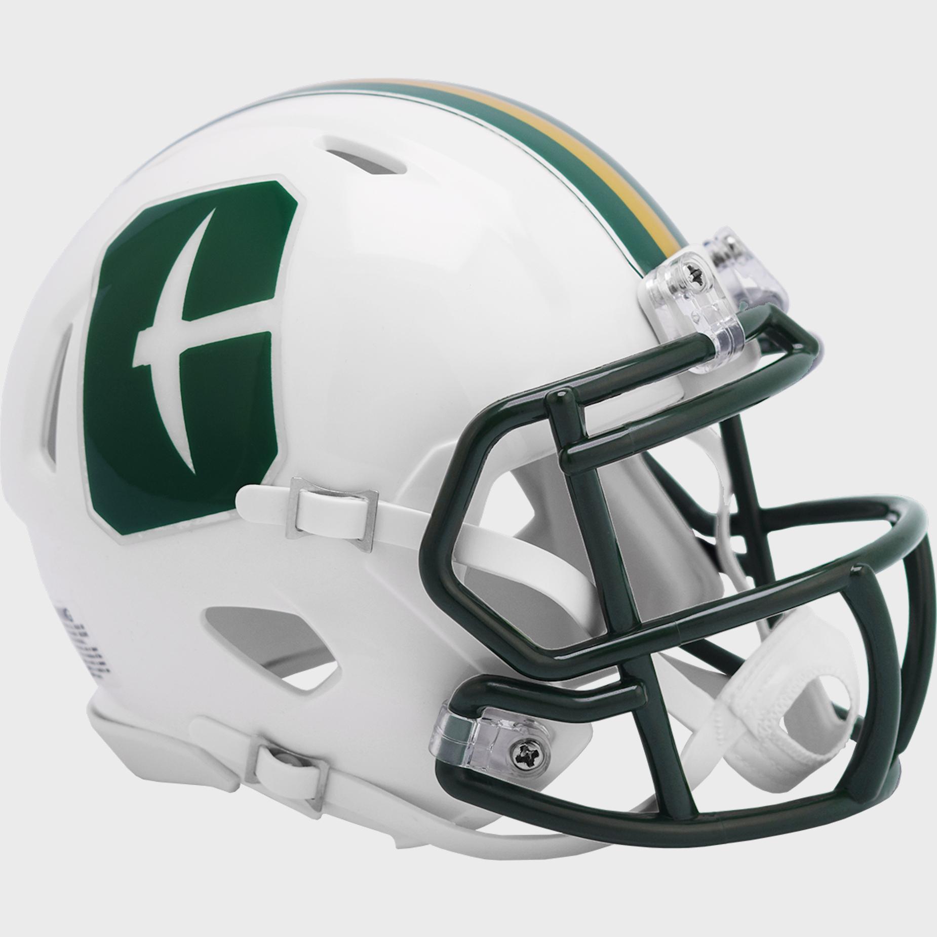 UNC Charlotte 49ers NCAA Mini Speed Football Helmet