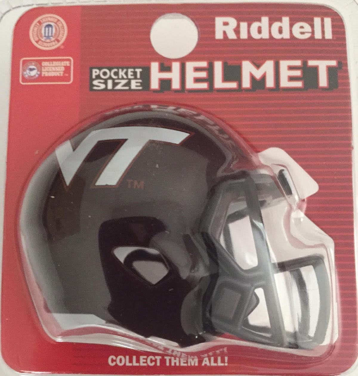 Virginia Tech Hokies Pocket Pro Riddell
