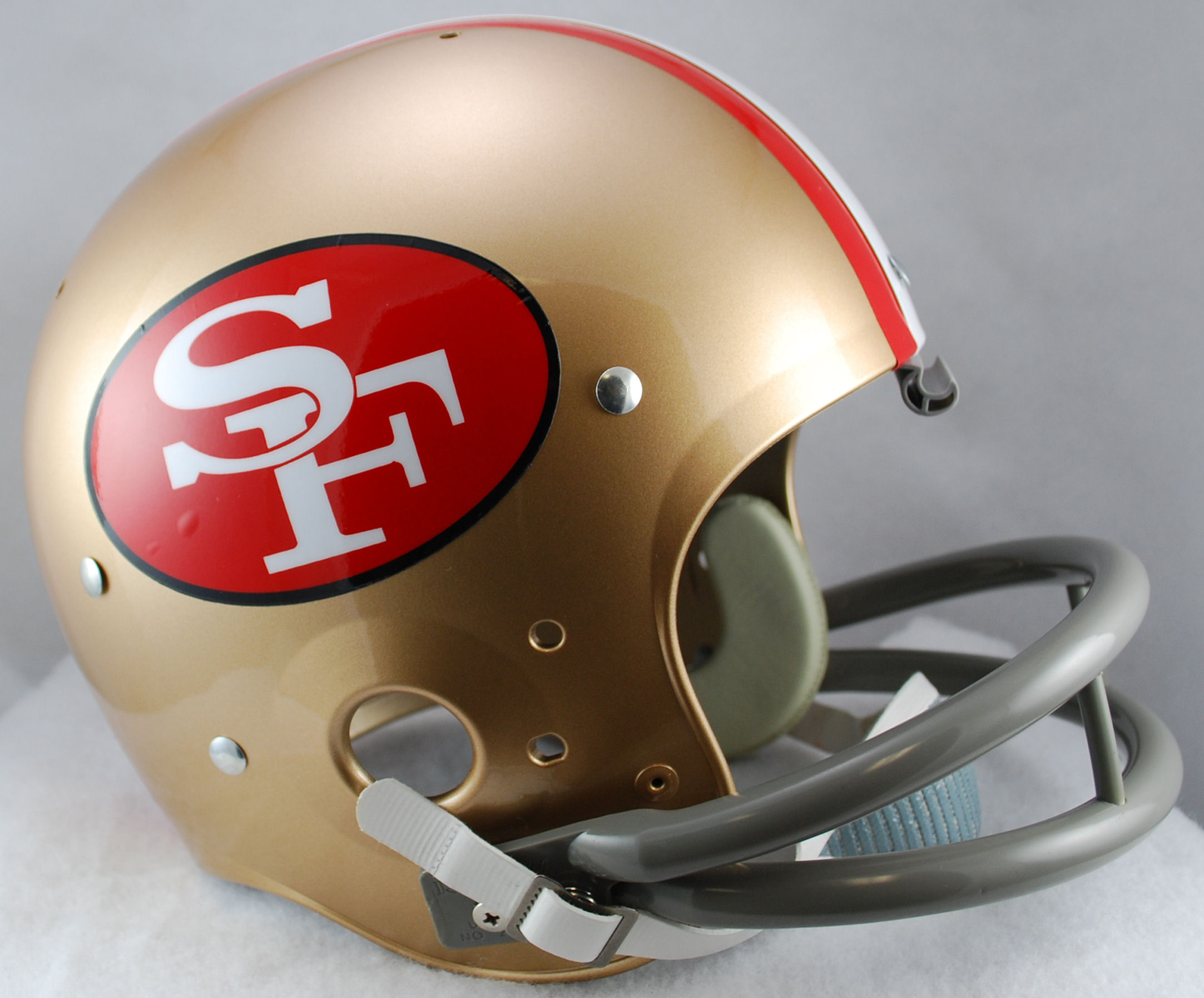 San Francisco 49ers 1964 to 1988 TK Throwback Football Helmet