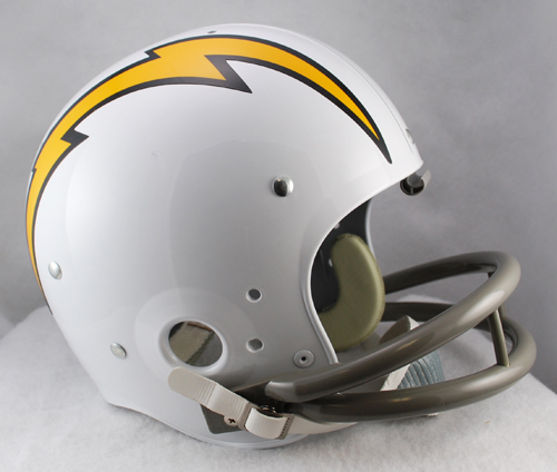 San Diego Chargers 1961 to 1973 TK Throwback Football Helmet