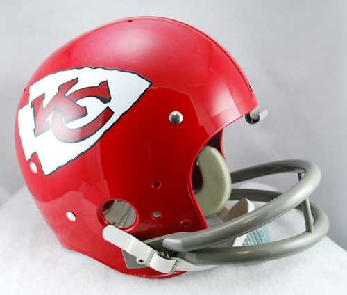 Kansas City Chiefs 1963 to 1973 TK Throwback Football Helmet