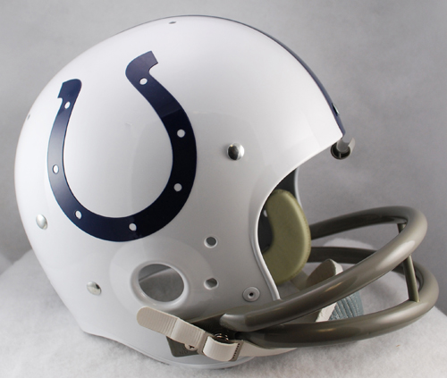 Indianapolis Colts 1957 to 1977 TK Throwback Football Helmet