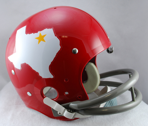 Dallas Texans 1960 to 1962 TK Throwback Football Helmet