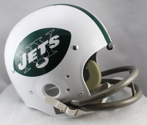 New York Jets 1965 to 1977 TK Throwback Football Helmet