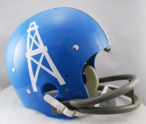 Houston Oilers 1960 to 1962 TK Throwback Football Helmet