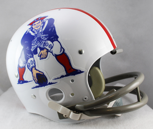 New England Patriots 1961 to 1964 TK Throwback Football Helmet