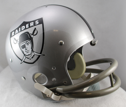 Oakland Raiders 1963 TK Throwback Football Helmet
