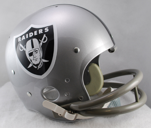 Oakland Raiders 1964 TK Throwback Football Helmet