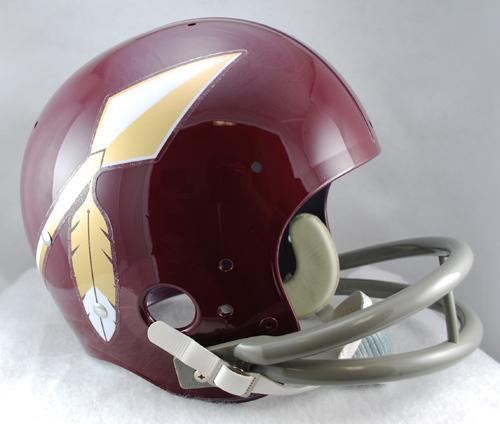 Washington Redskins 1965 to 1969 TK Throwback Football Helmet