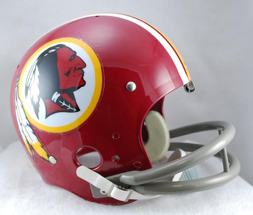 Washington Redskins 1972 to 1977 TK Throwback Football Helmet
